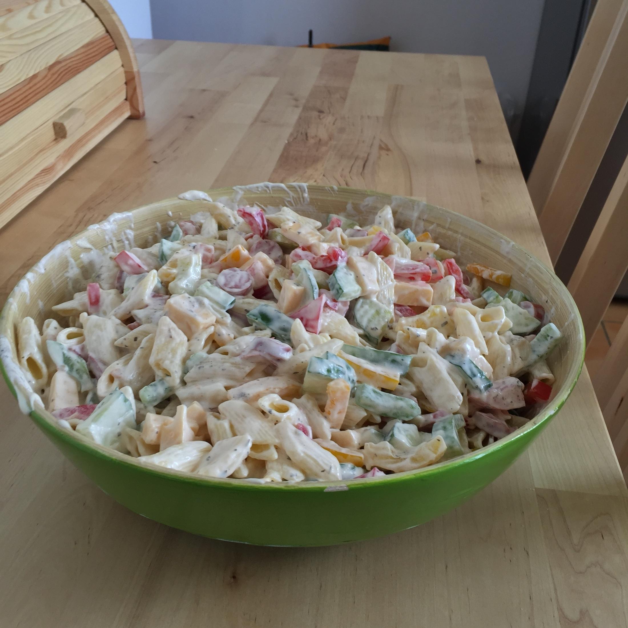 Fotografie receptu: Lehký těstovinový salát