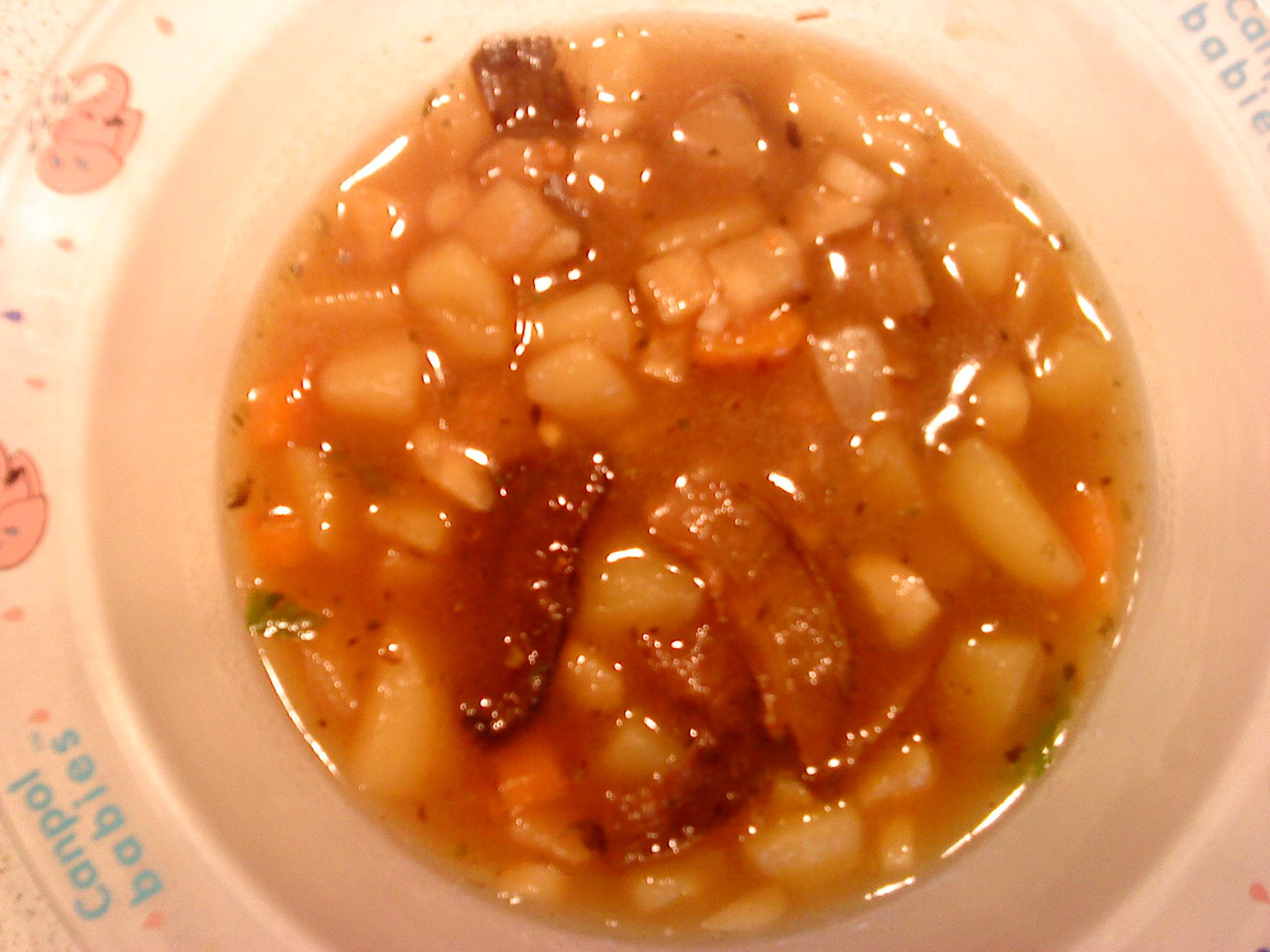 Recept Houbová bramboračka - Houbová bramboračka