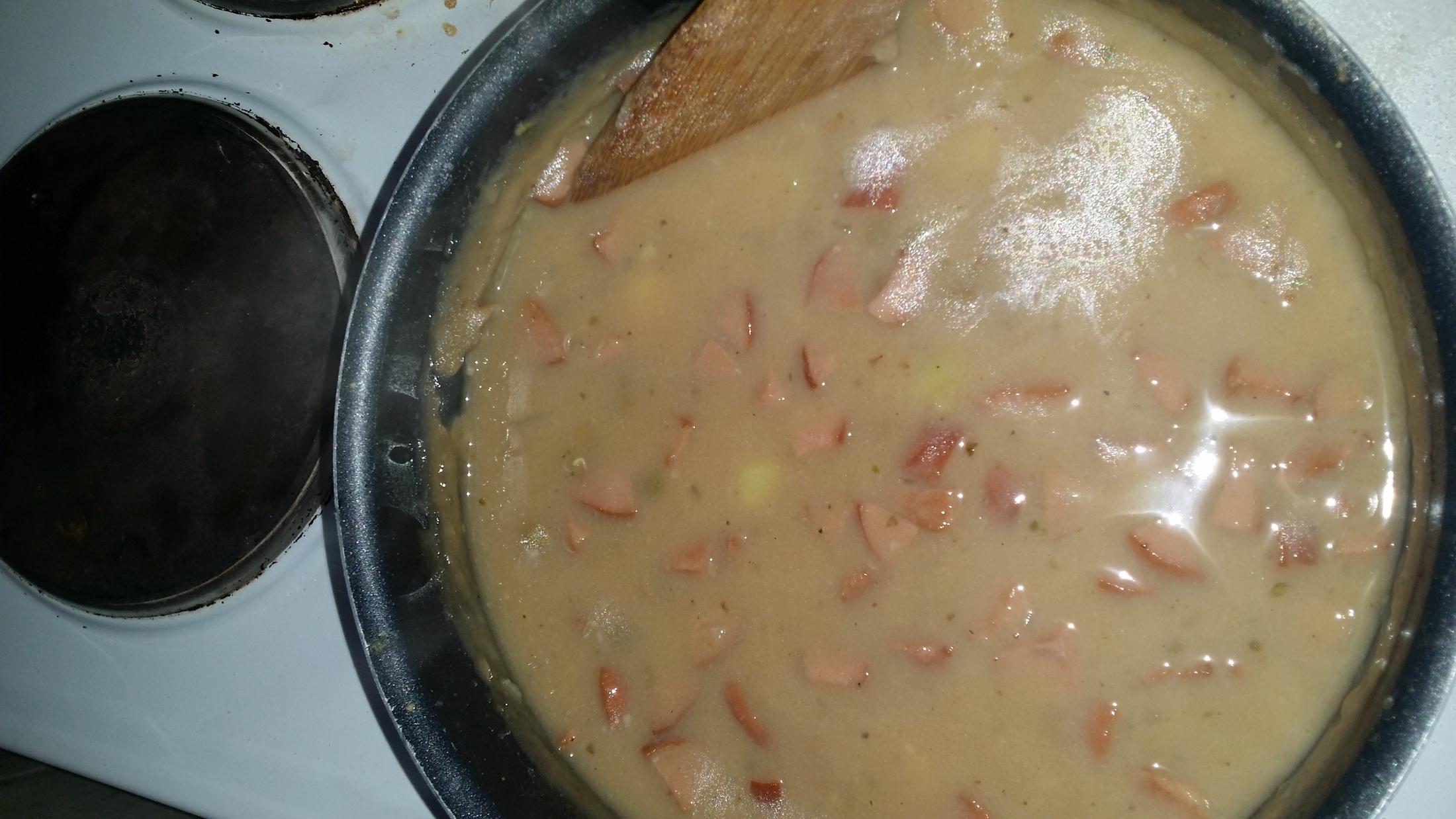 Recept Rychlá čočková polévka - Rychlá čočková polévka je výborná.