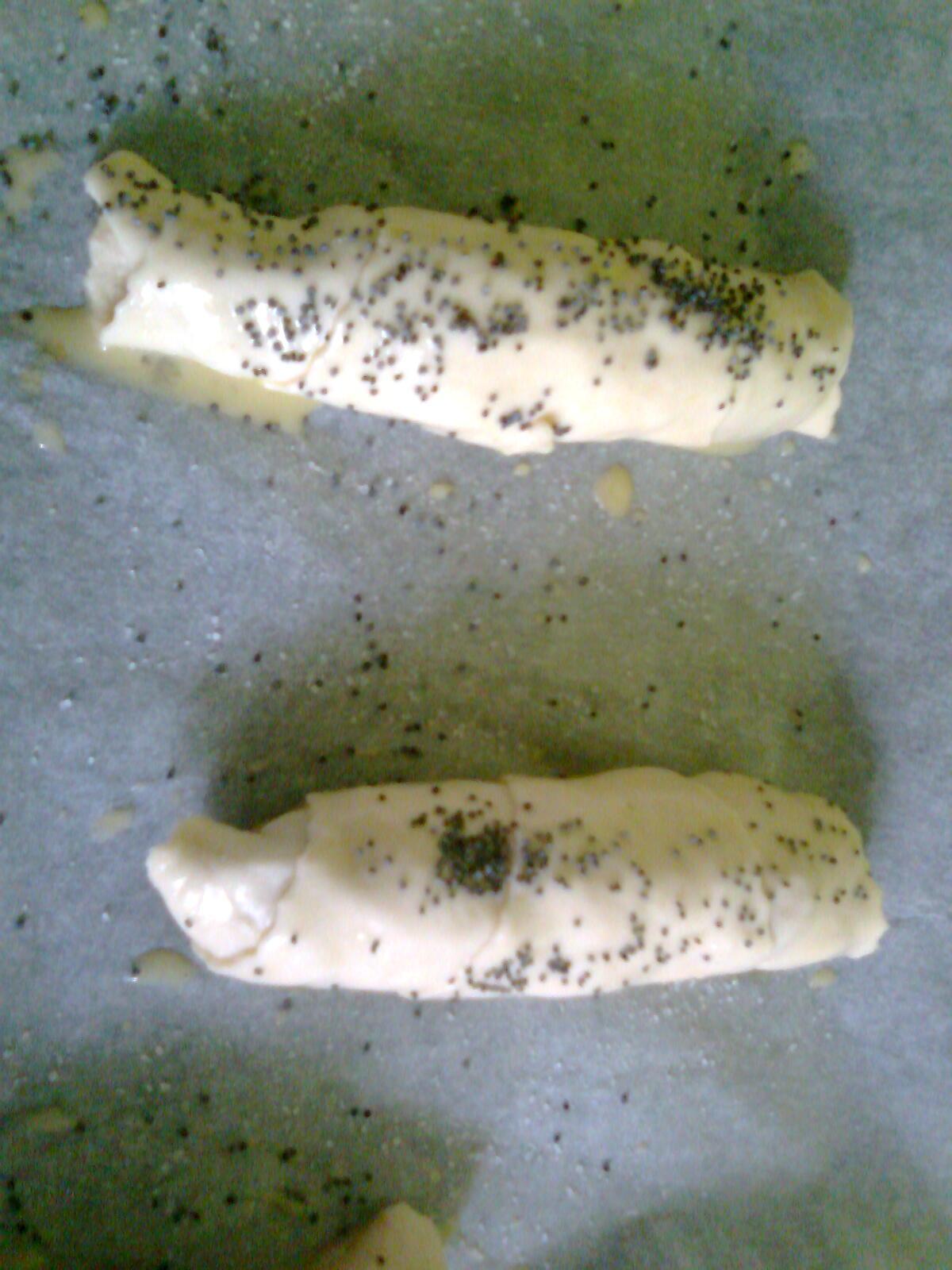 Domácí slané rohlíčky