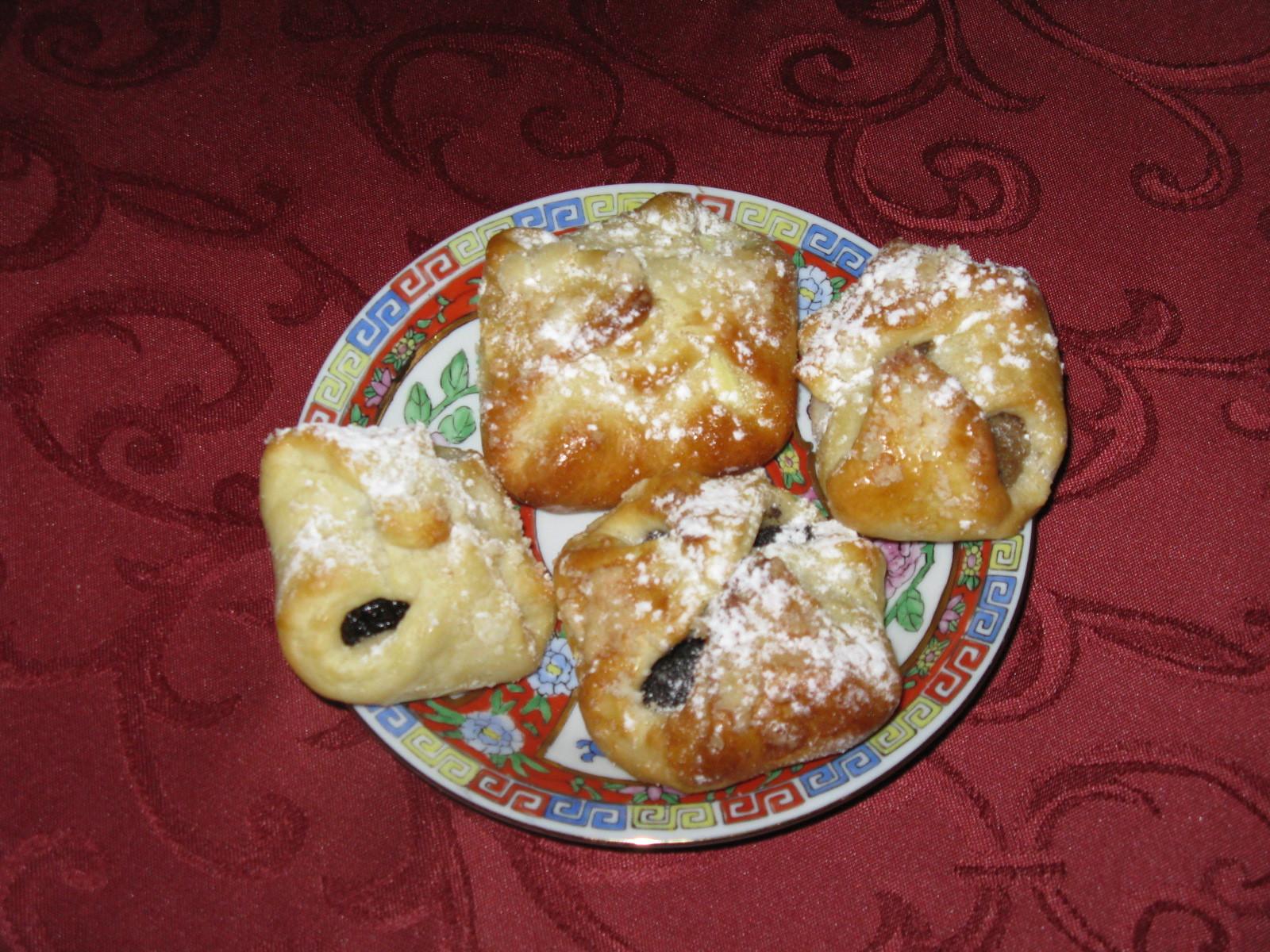 Recept Babiččiny nekynuté koláčky - Babiččiny nekynuté koláčky