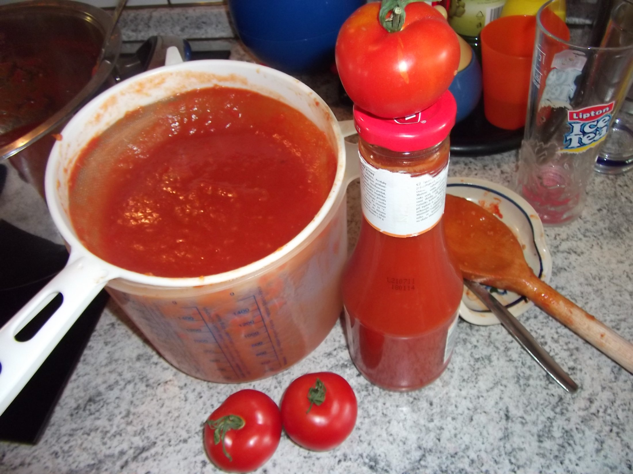 Recept Domácí kečup 2 - pasírujeme