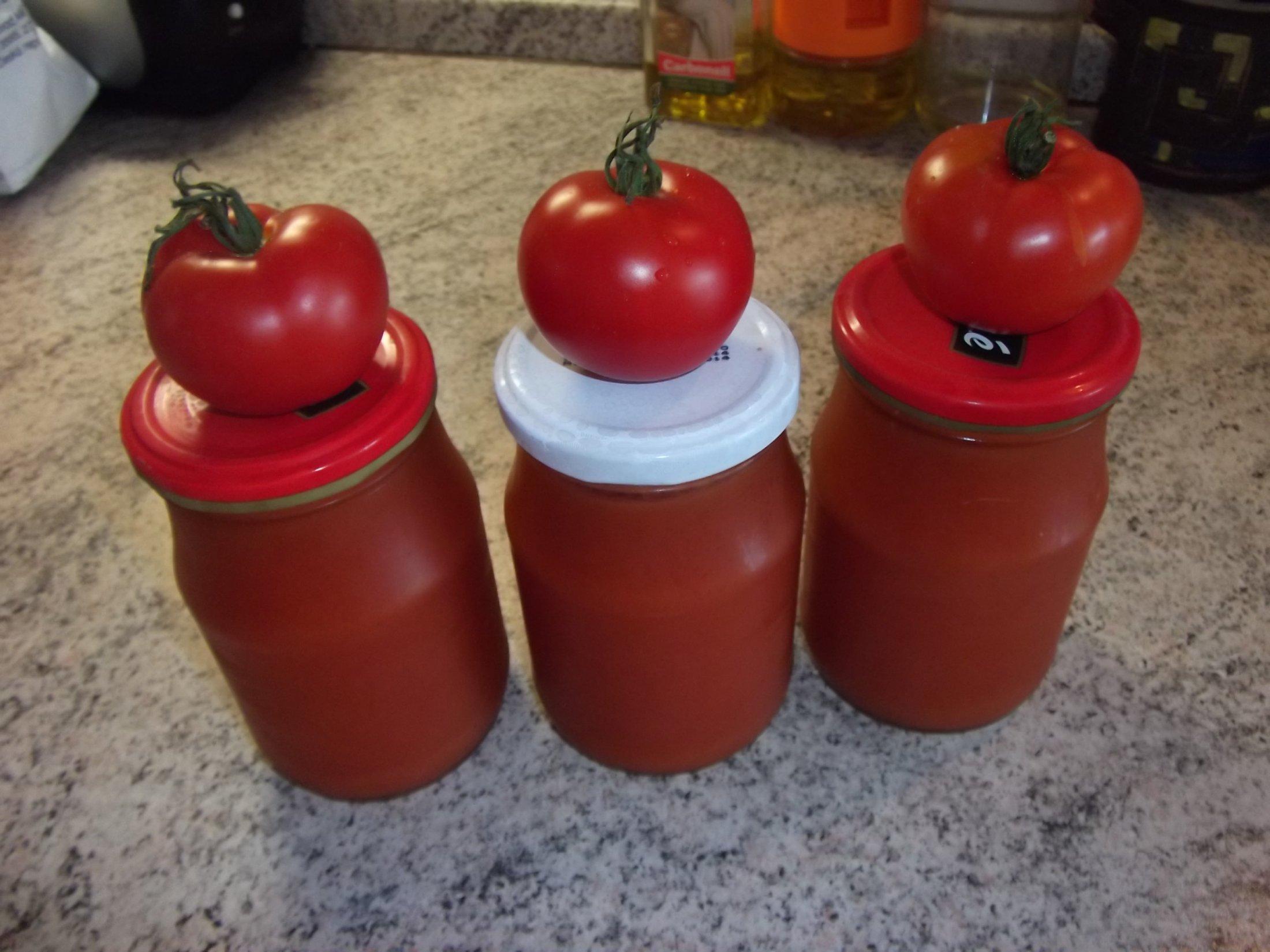Recept Domácí kečup 2 - Hotový kečup.