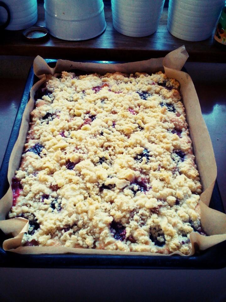 Recept Rychlý švestkový koláč - Jednoduché, rychlé.