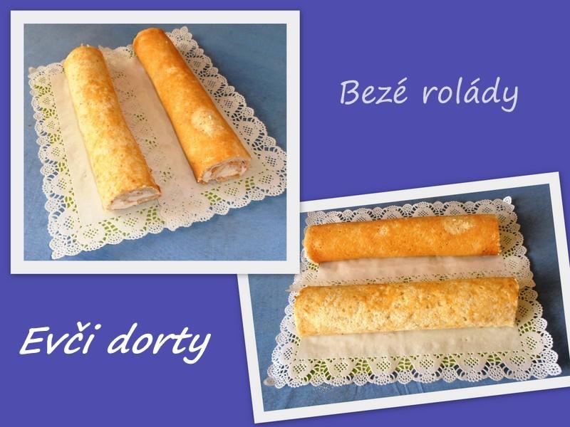 Fotografie receptu: Bezé roláda