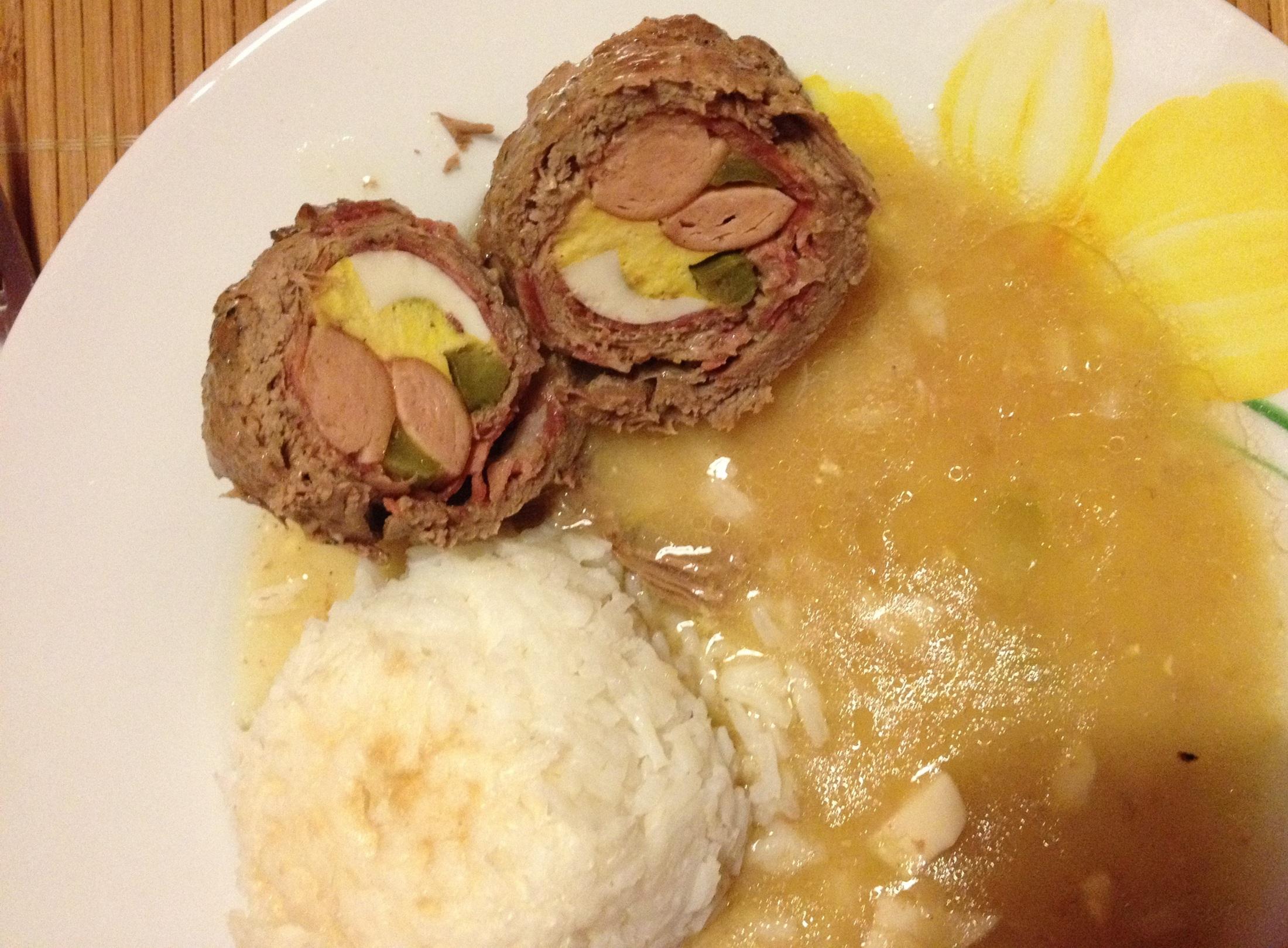 Recept Klasický španělský ptáček - Španělský ptáček mám raději s rýží