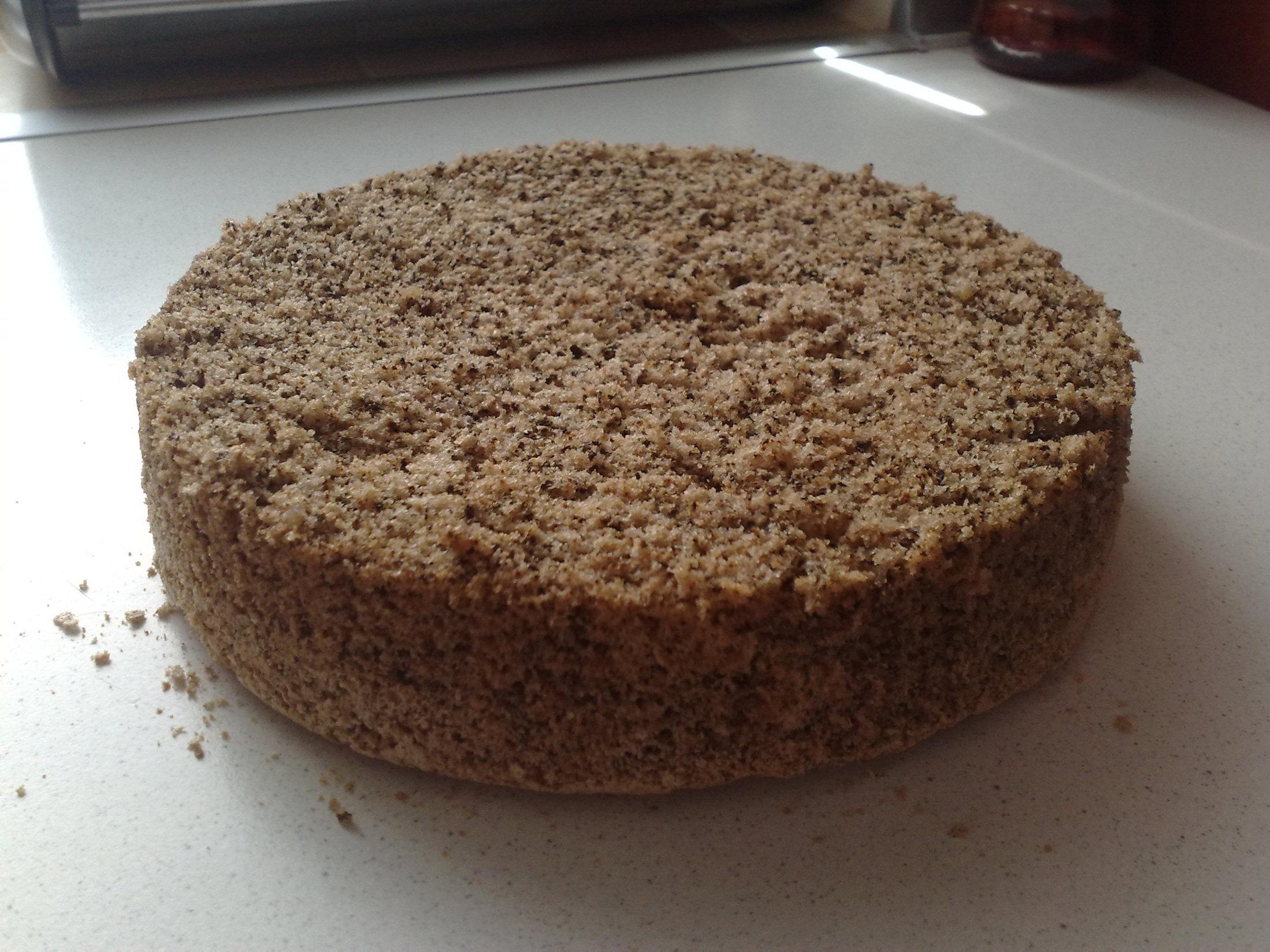 Slavnostní ořechový dort