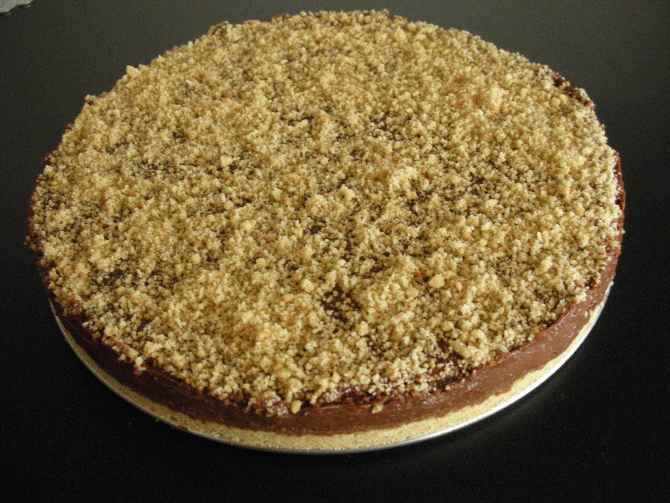Recept Čokoládový dort bez pečení - Čokoládový dort bez pečení