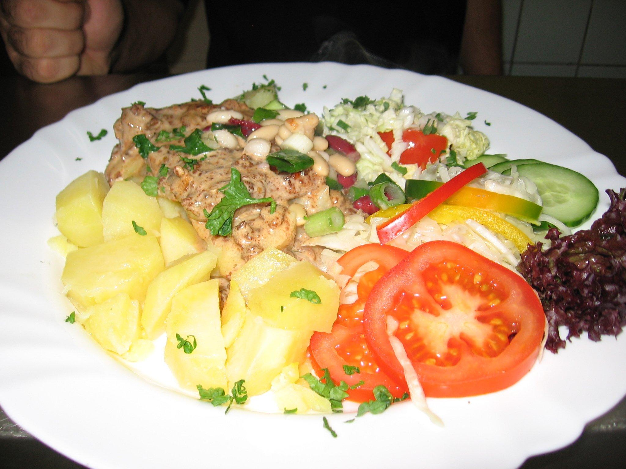 Recept Mexické brambory - Mexické brambory.