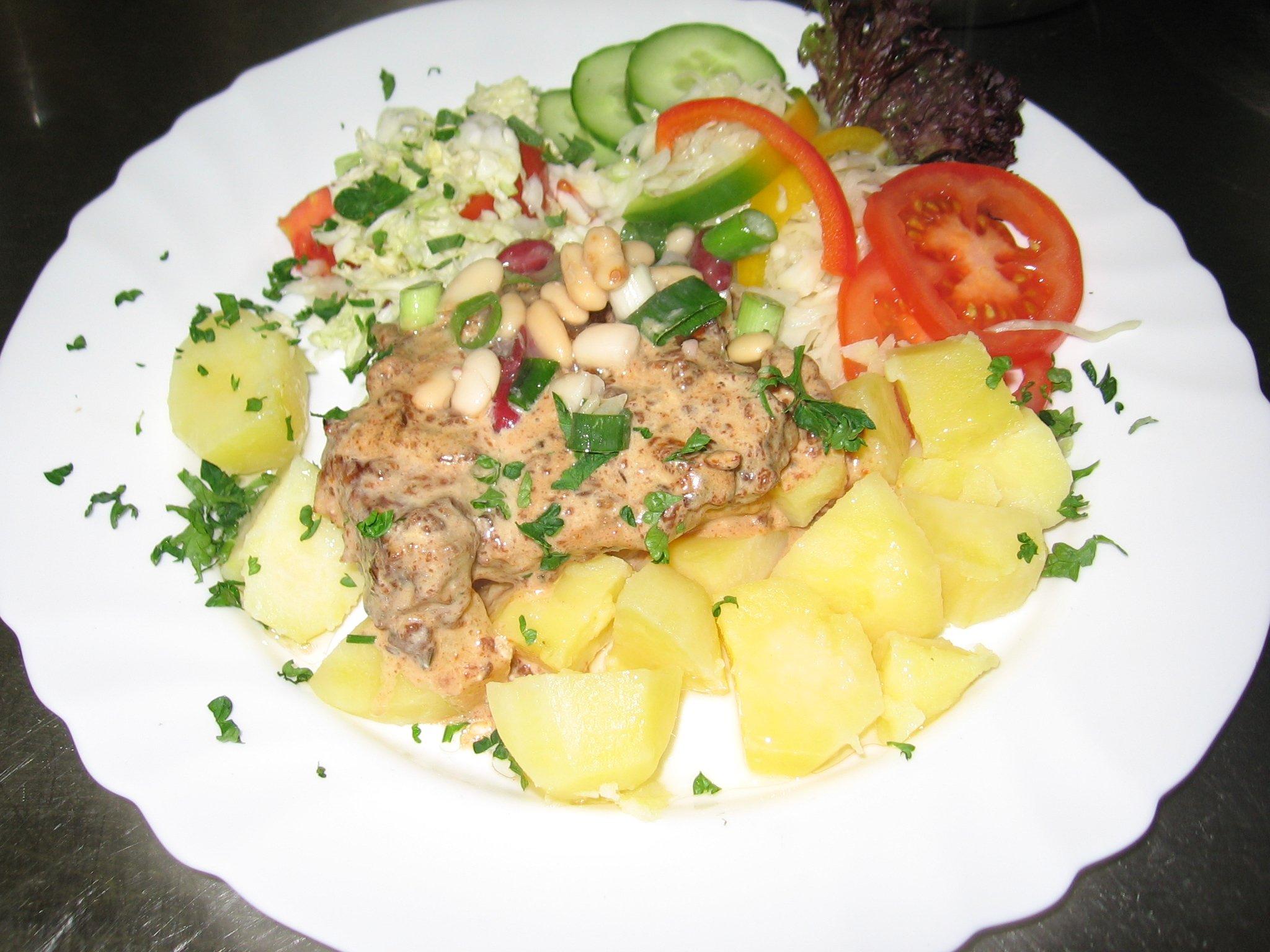 Fotografie receptu: Mexické brambory