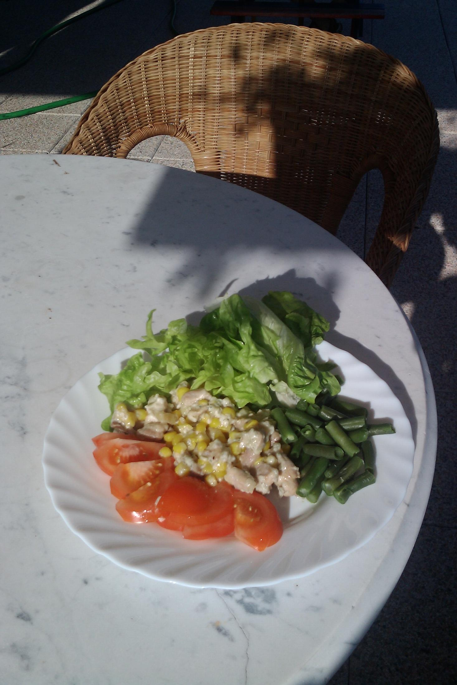 Kuřecí řezanka s nivou