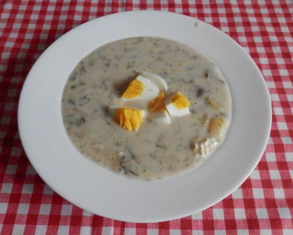Recept Pravá jihočeská kulajda - Polévka kulajda