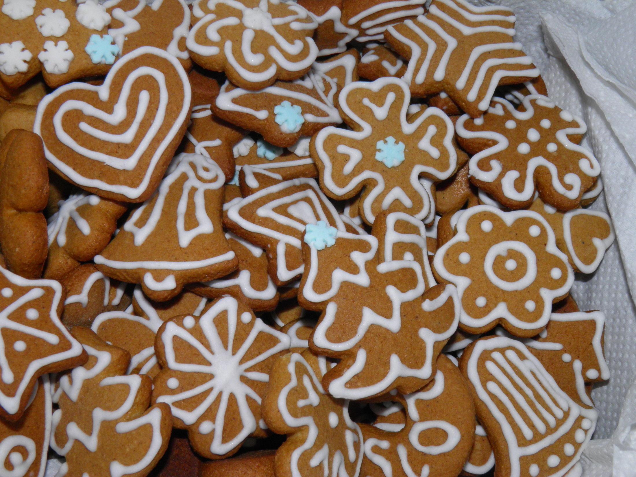 Perníčky na Vánoce či Velikonoce