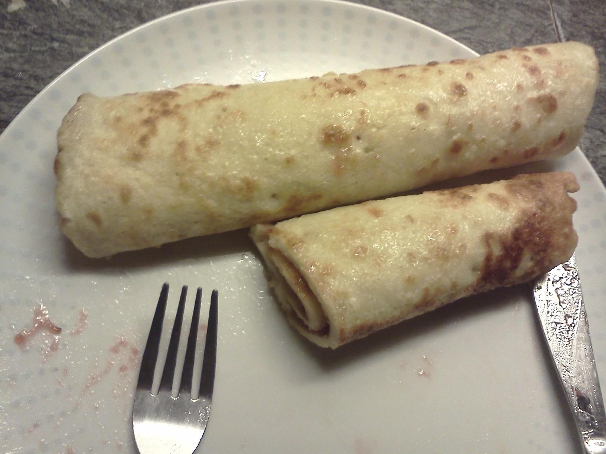 Recept Palačinky - Moje palačinky s marmeládou