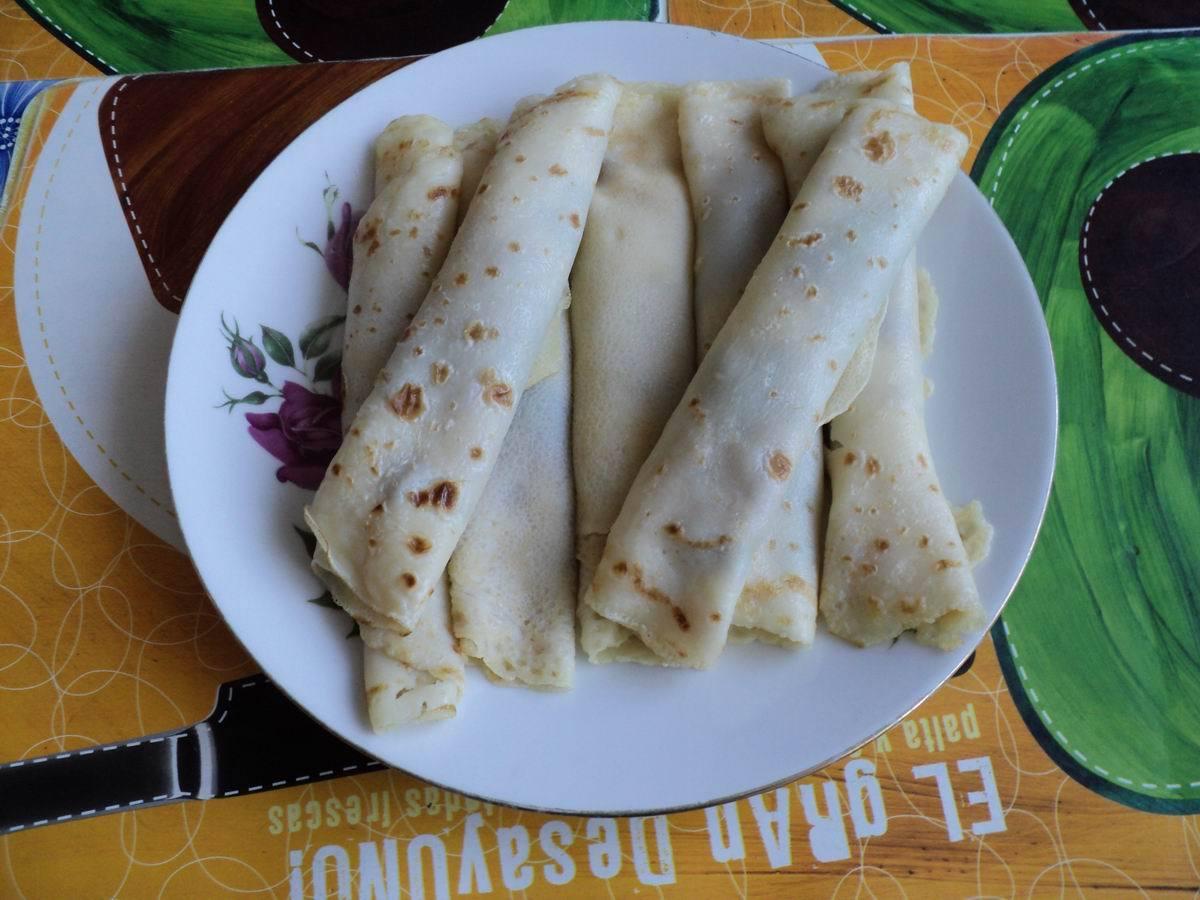 Recept Palačinky - Palačinky podle receptu jsou skvělé.