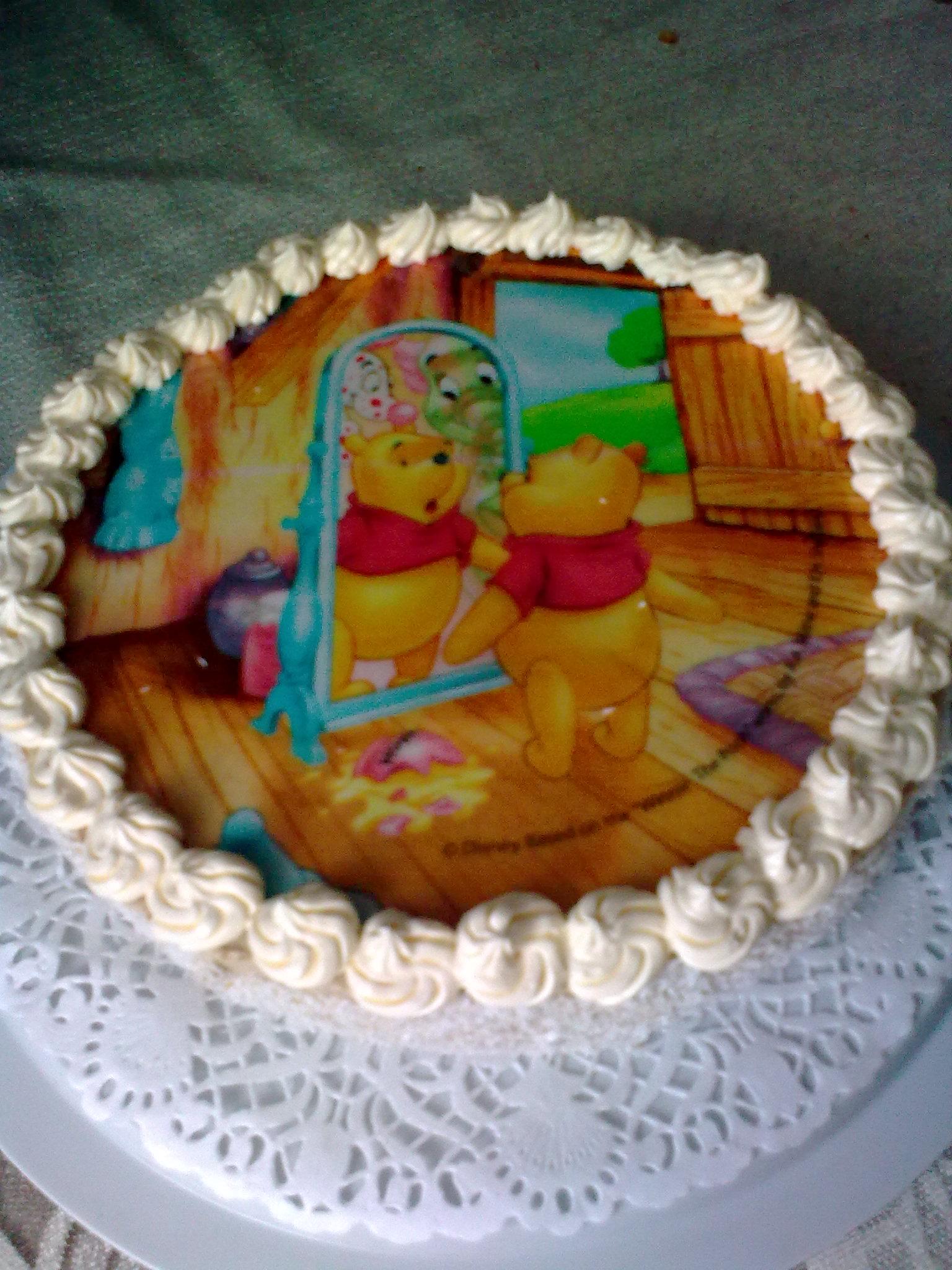 Nadýchaný ořechový dort