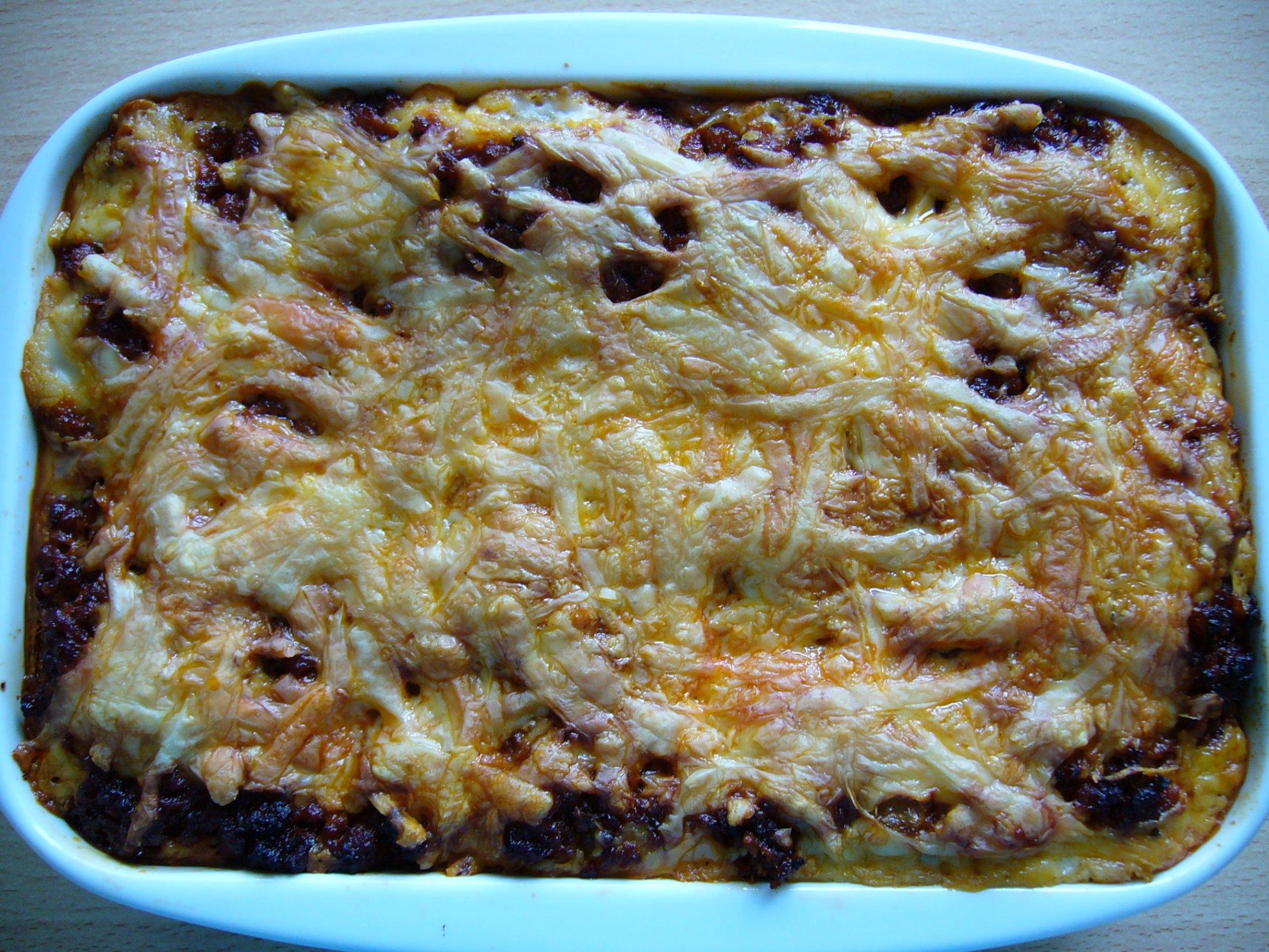 Recept Lasagne s mletým masem a bešamelem - Lasagne s mletým masem a bešamelem