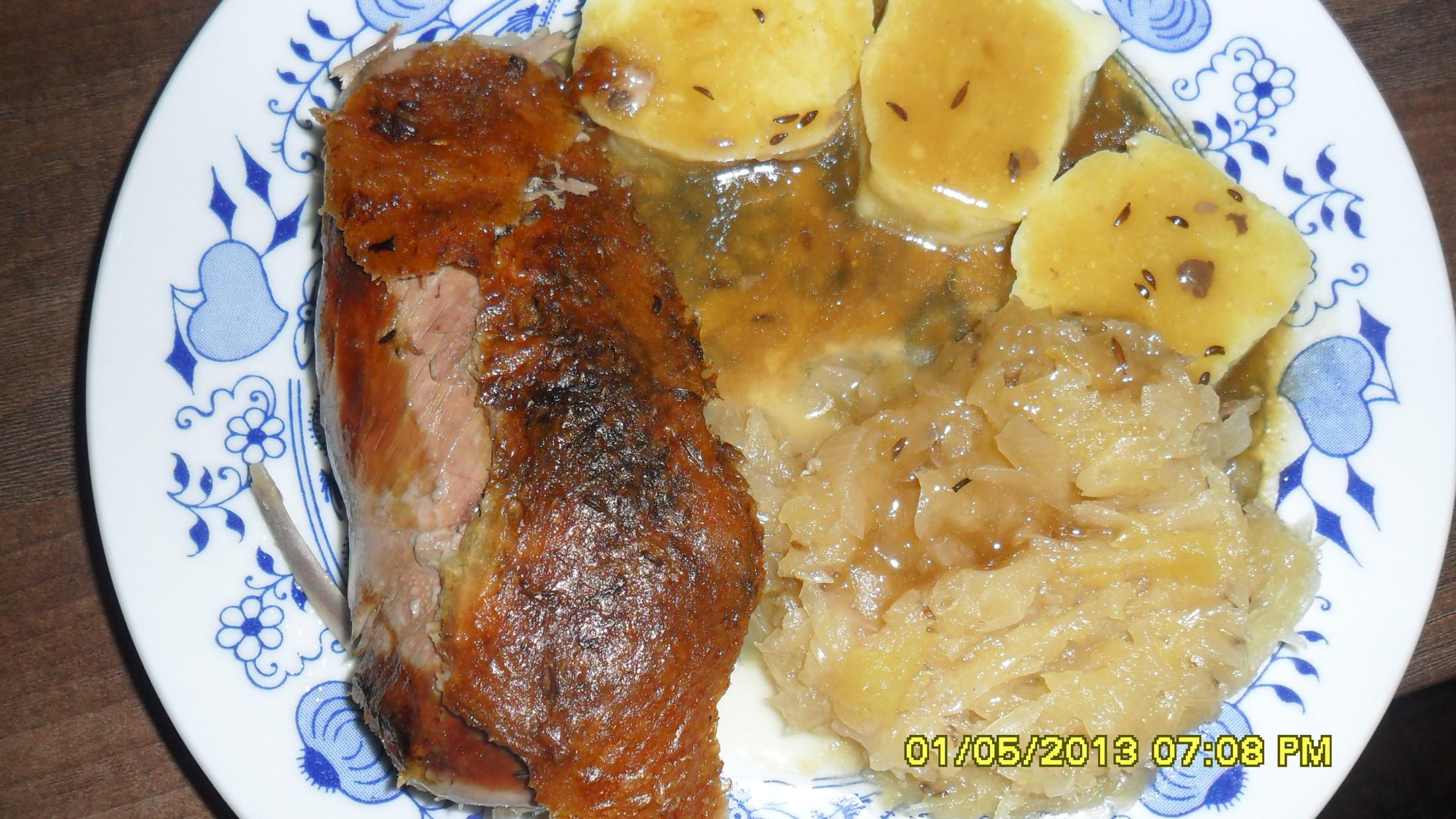 Klasické bramborové knedlíky