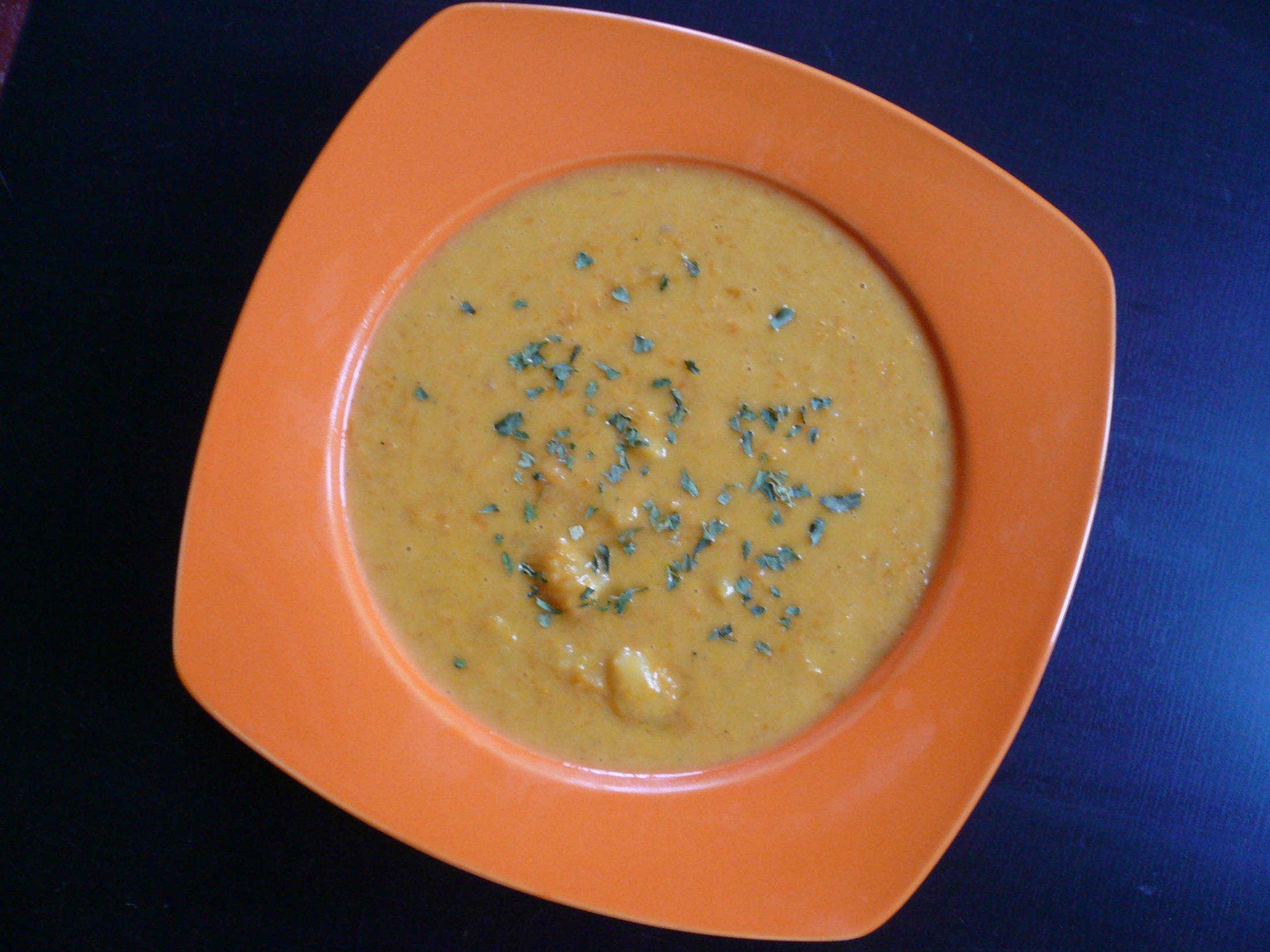 Fotografie receptu: Vynikající mrkvová polévka