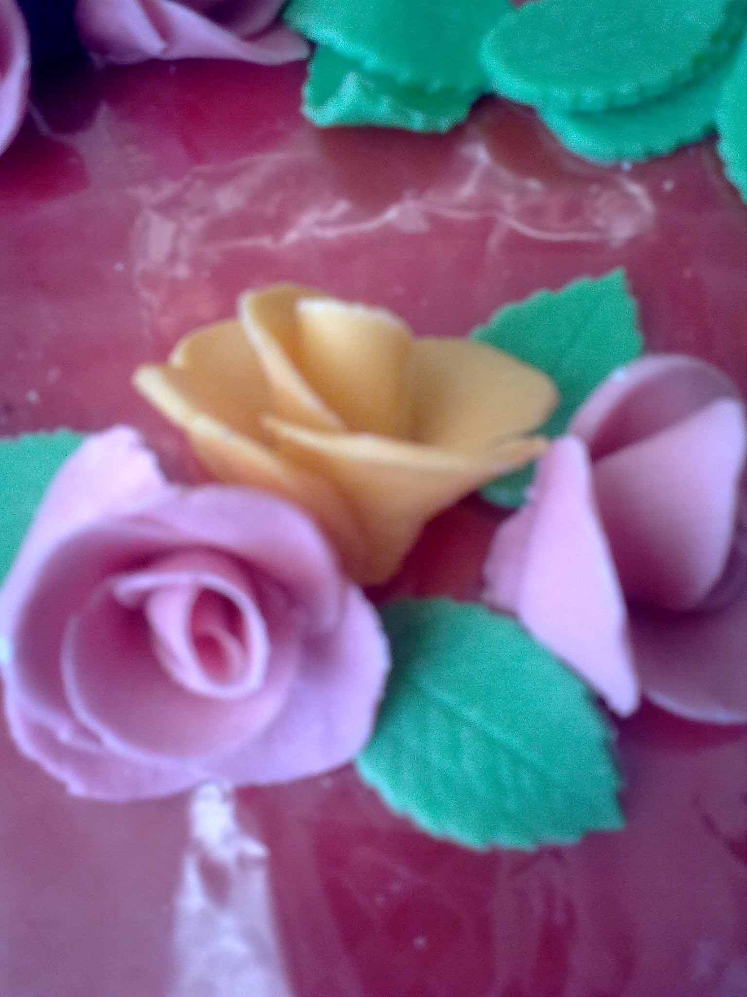 Marcipánové růžičky