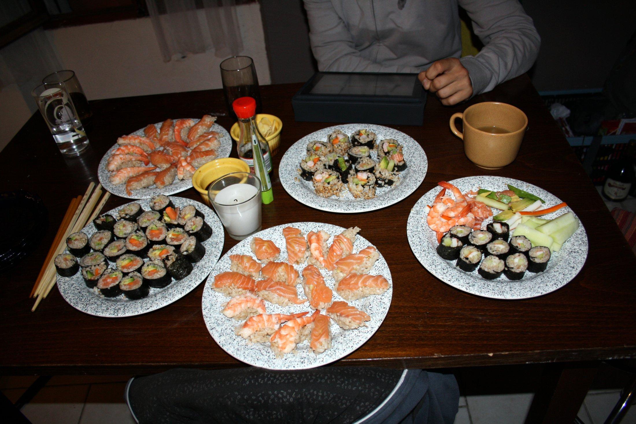 Recept Suši - Suši