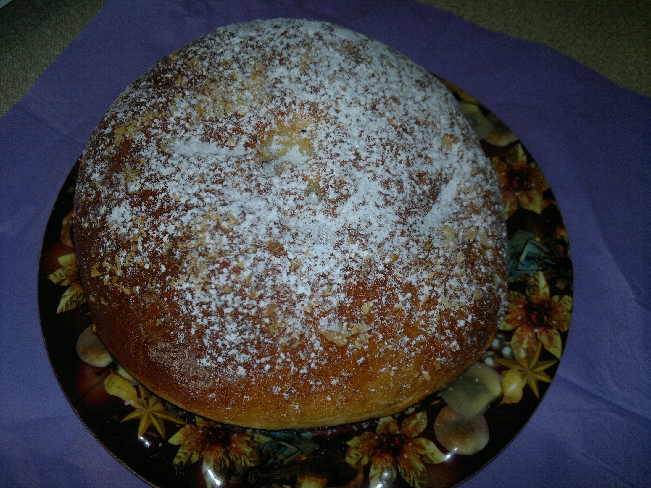 Recept Mazanec - Rumový naservírován....