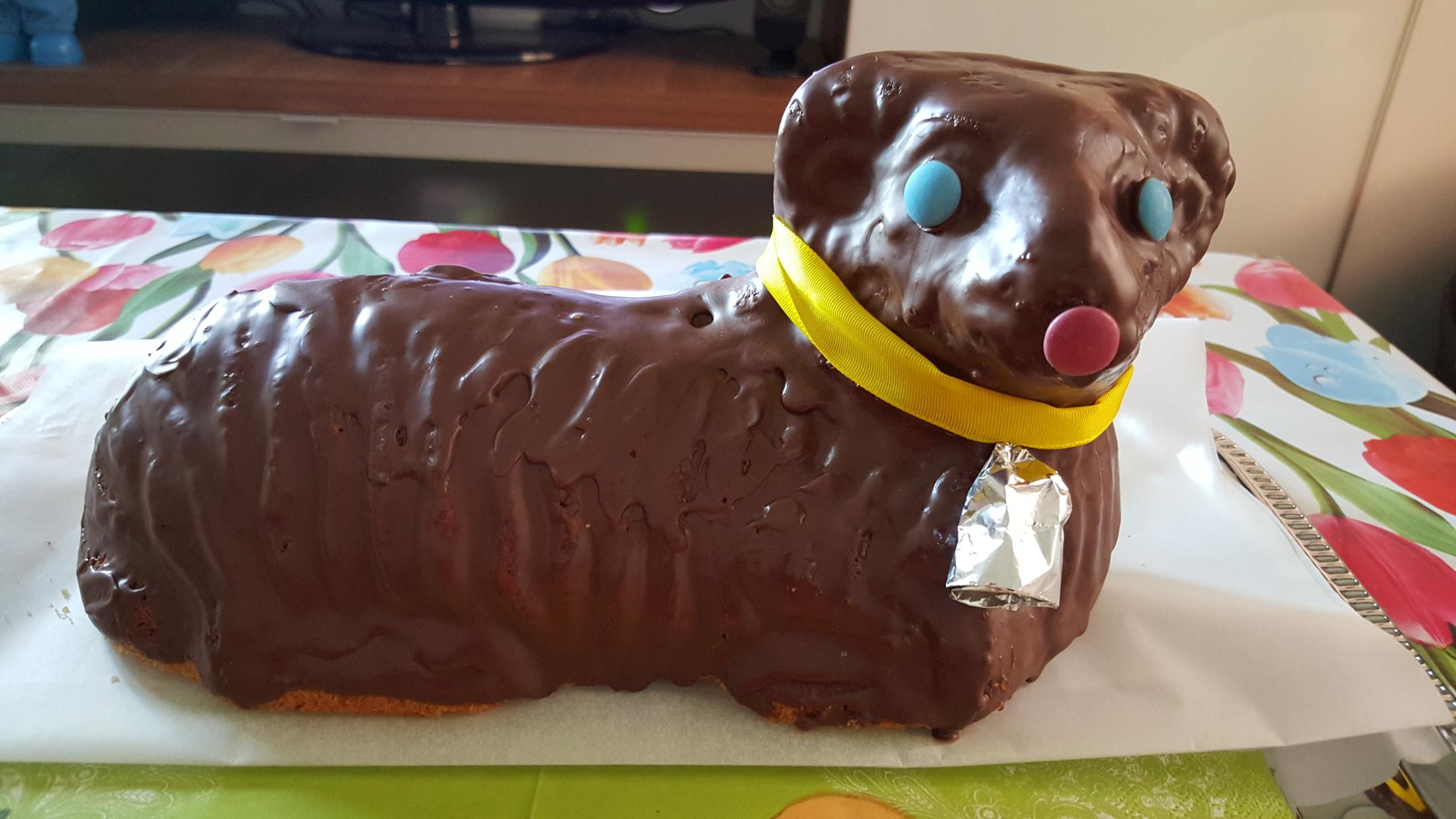 Recept Třený velikonoční beránek - Třený velikonoční beránek