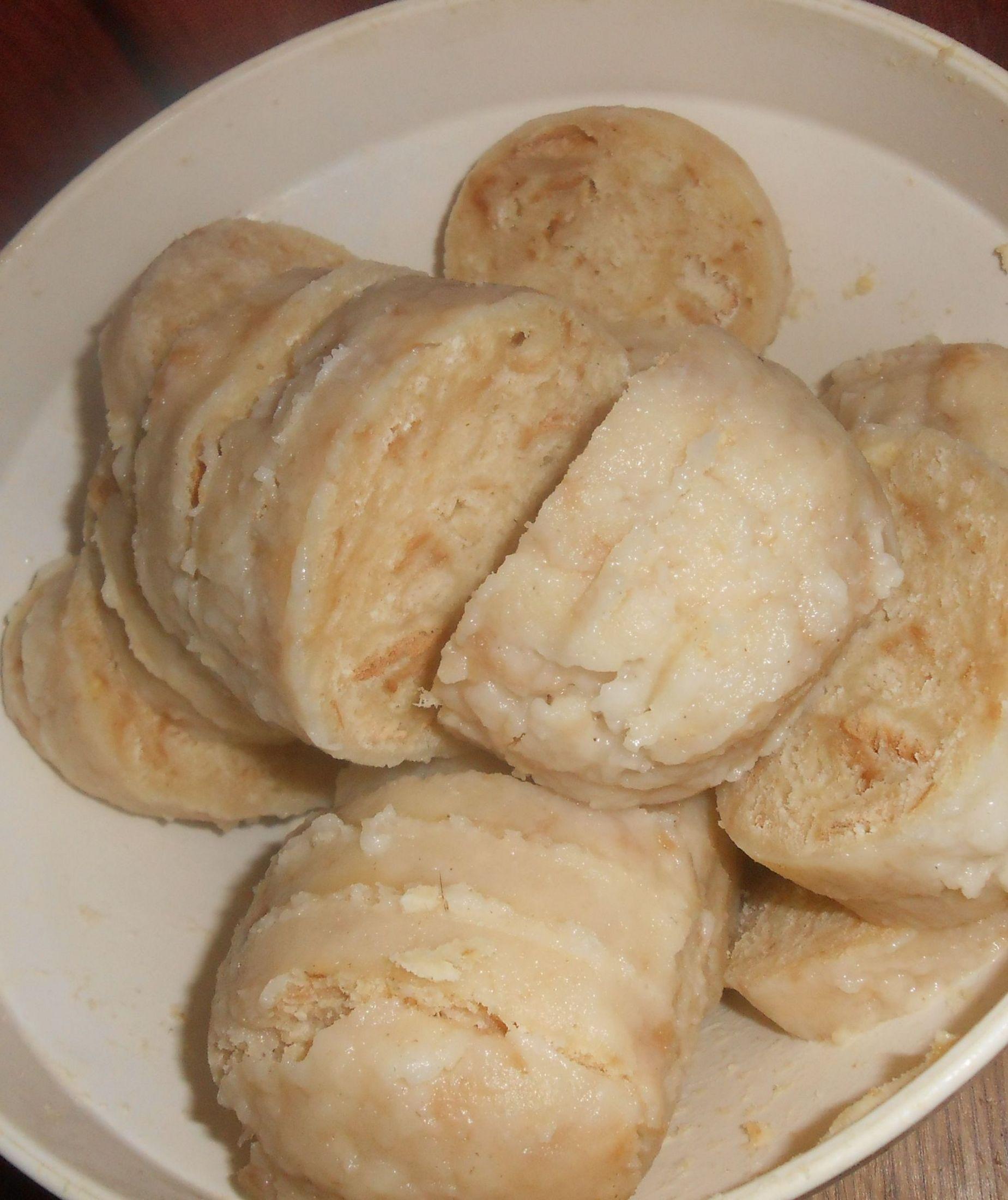 Recept Houskový knedlík naší babičky - Houskový knedlík naší babičky - moc dobrý!