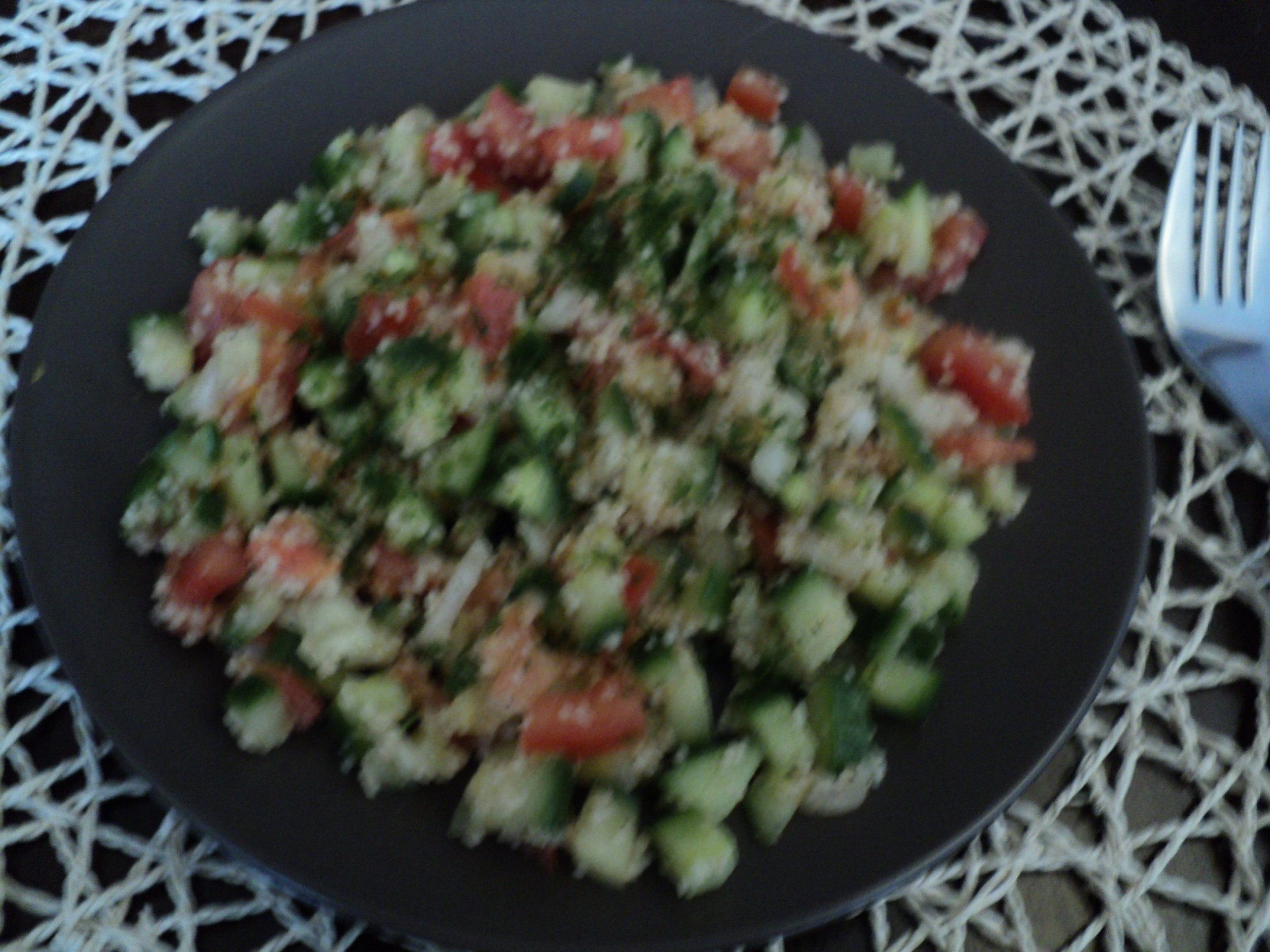 Fotografie receptu: Kuskusový salát se zeleninou