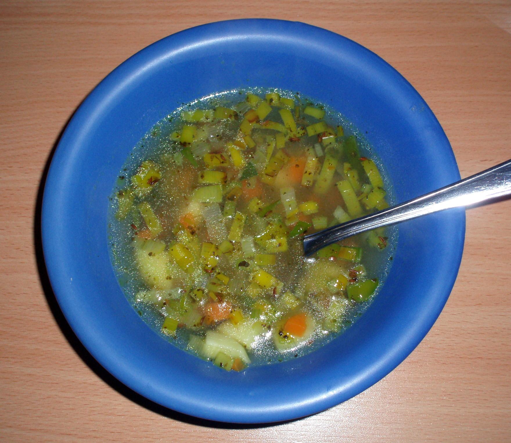 Recept Klasická pórková polévka - Klasická pórková polévka