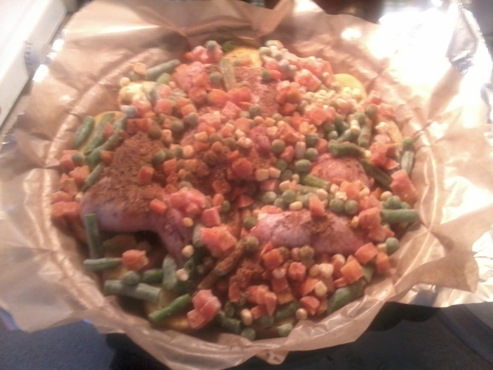 Fotografie receptu: Zeleninová křidélka