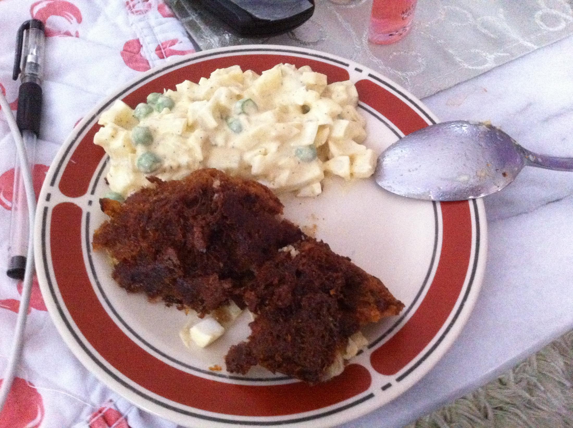 Vajíčkový salát s domácí majonézou