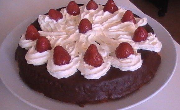 Recept Skvělý čokoládový dort - Skvělý čokoládový dort.