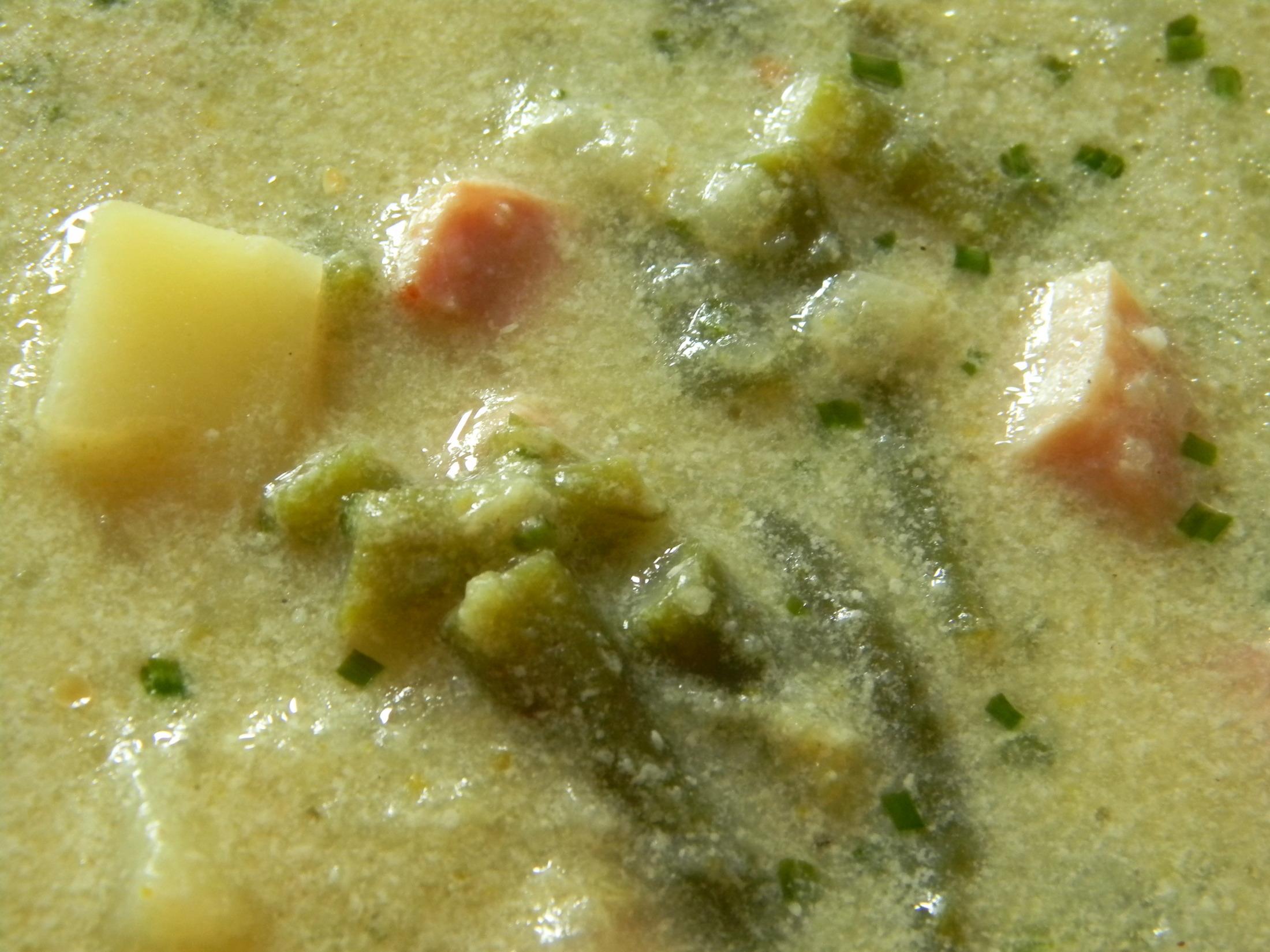 Recept Fazolková polévka s uzeným masem - Fazolková polévka s uzeným masem