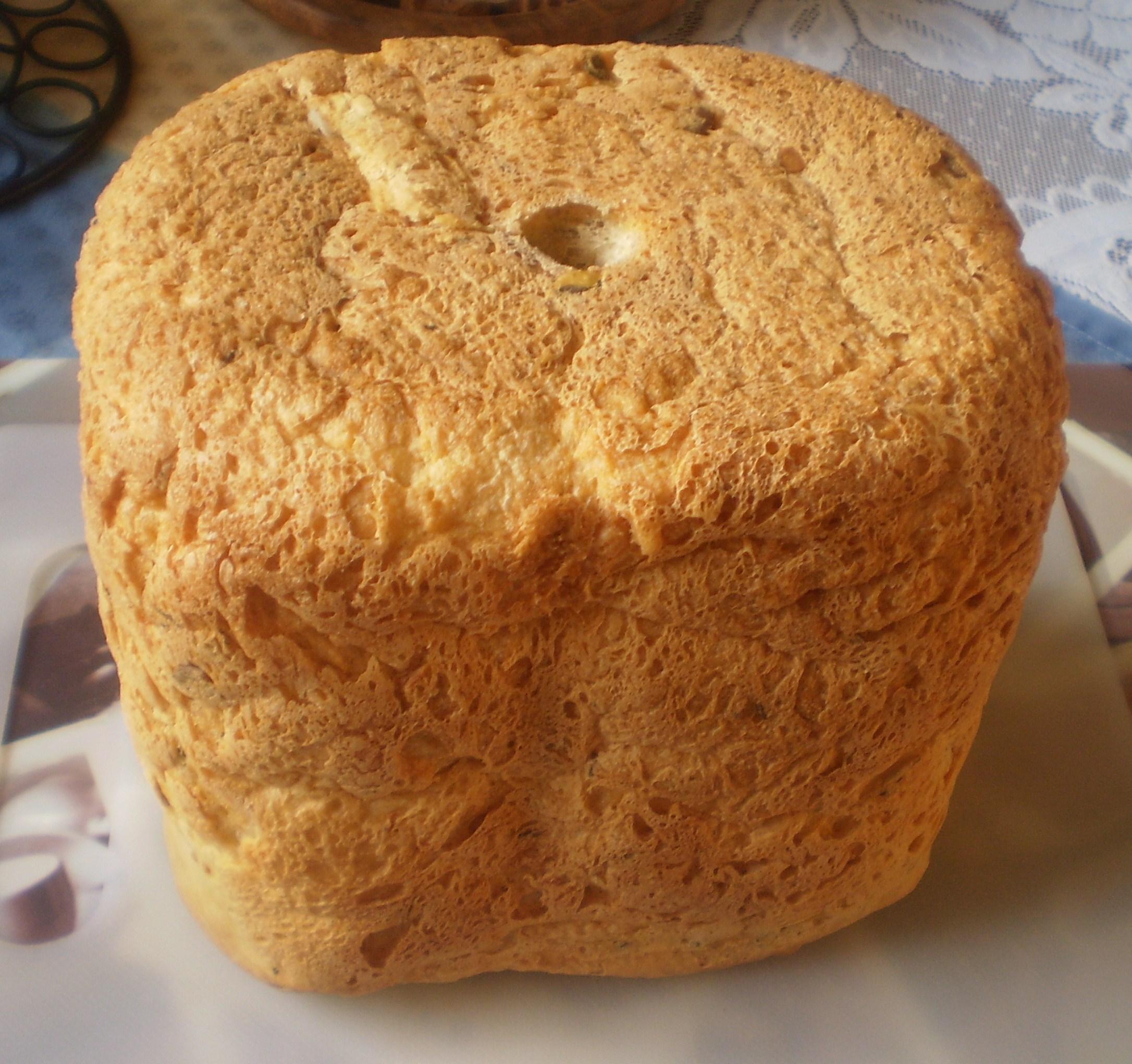 Domácí kefírový chléb