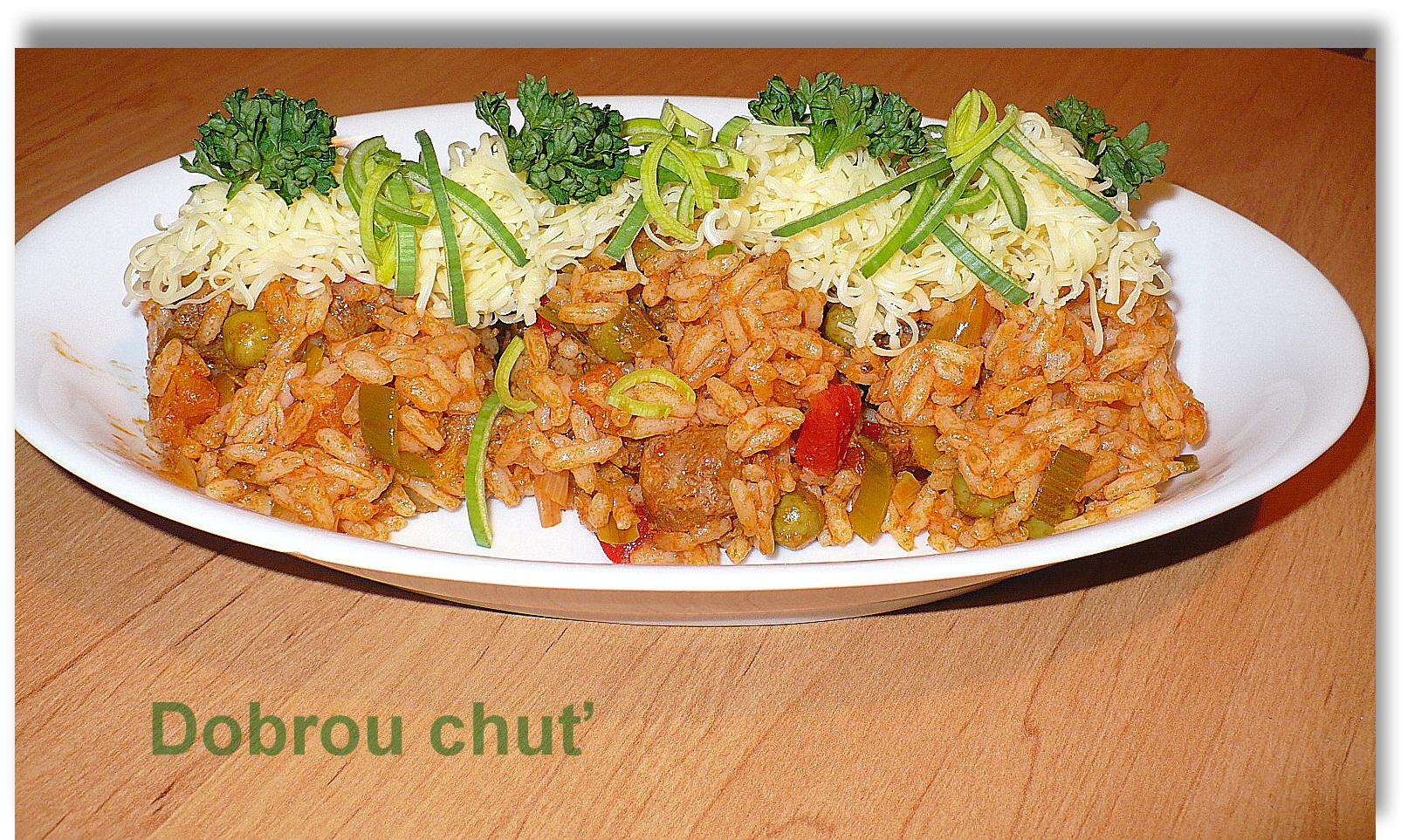 Fotografie receptu: Srbské červené rizoto