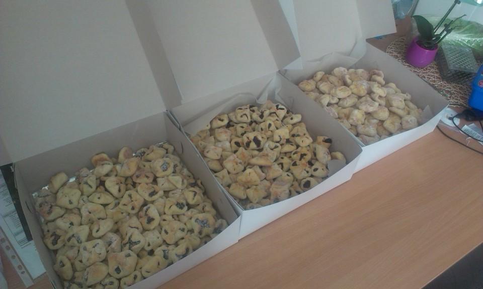 Recept Křehké svatební koláčky - Hotovo