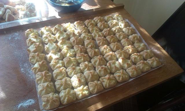 Recept Křehké svatební koláčky - Čerstvě vytažené