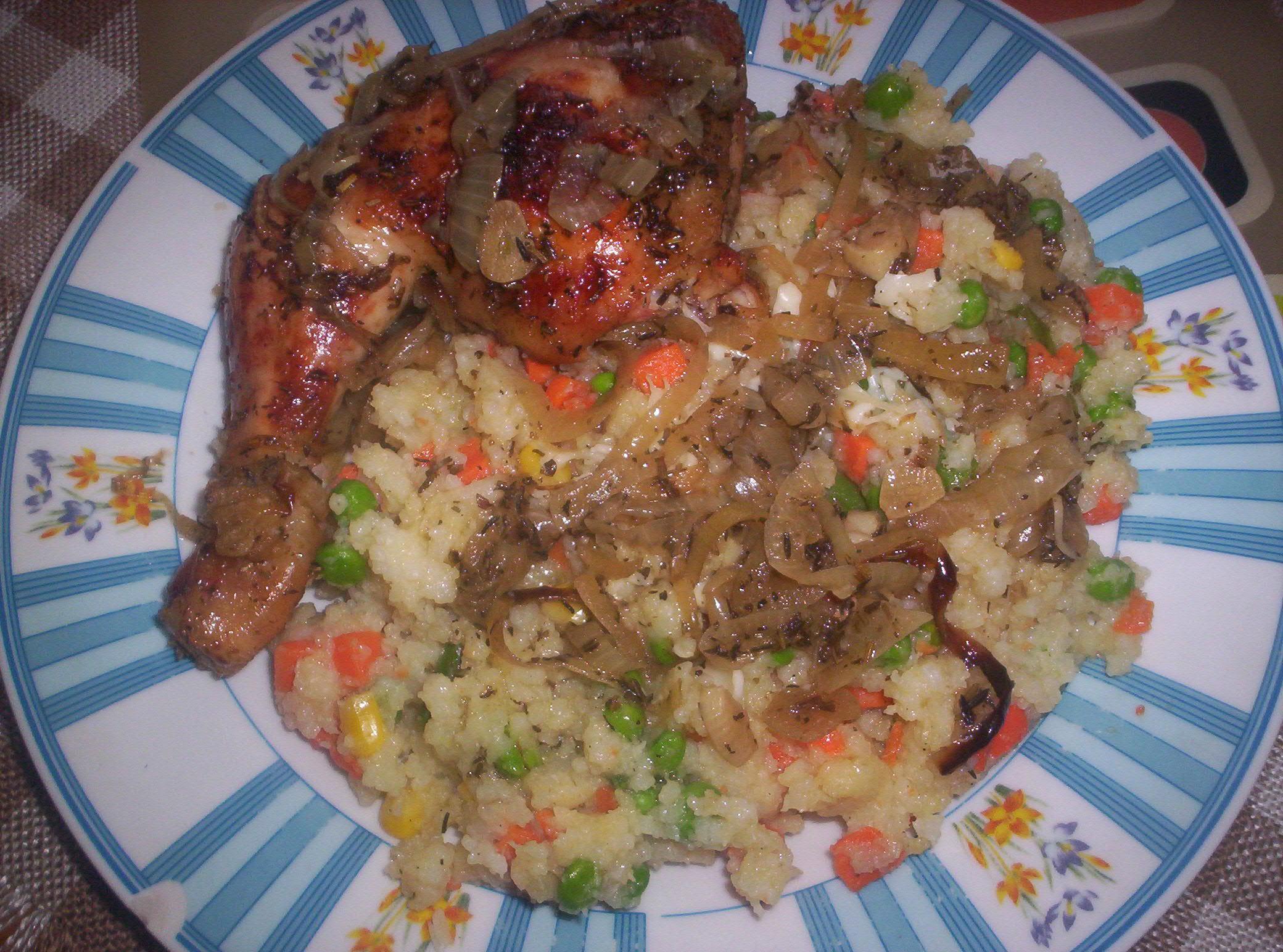 Recept Rýže dušená se zeleninou - Rýže dušená se zeleninou