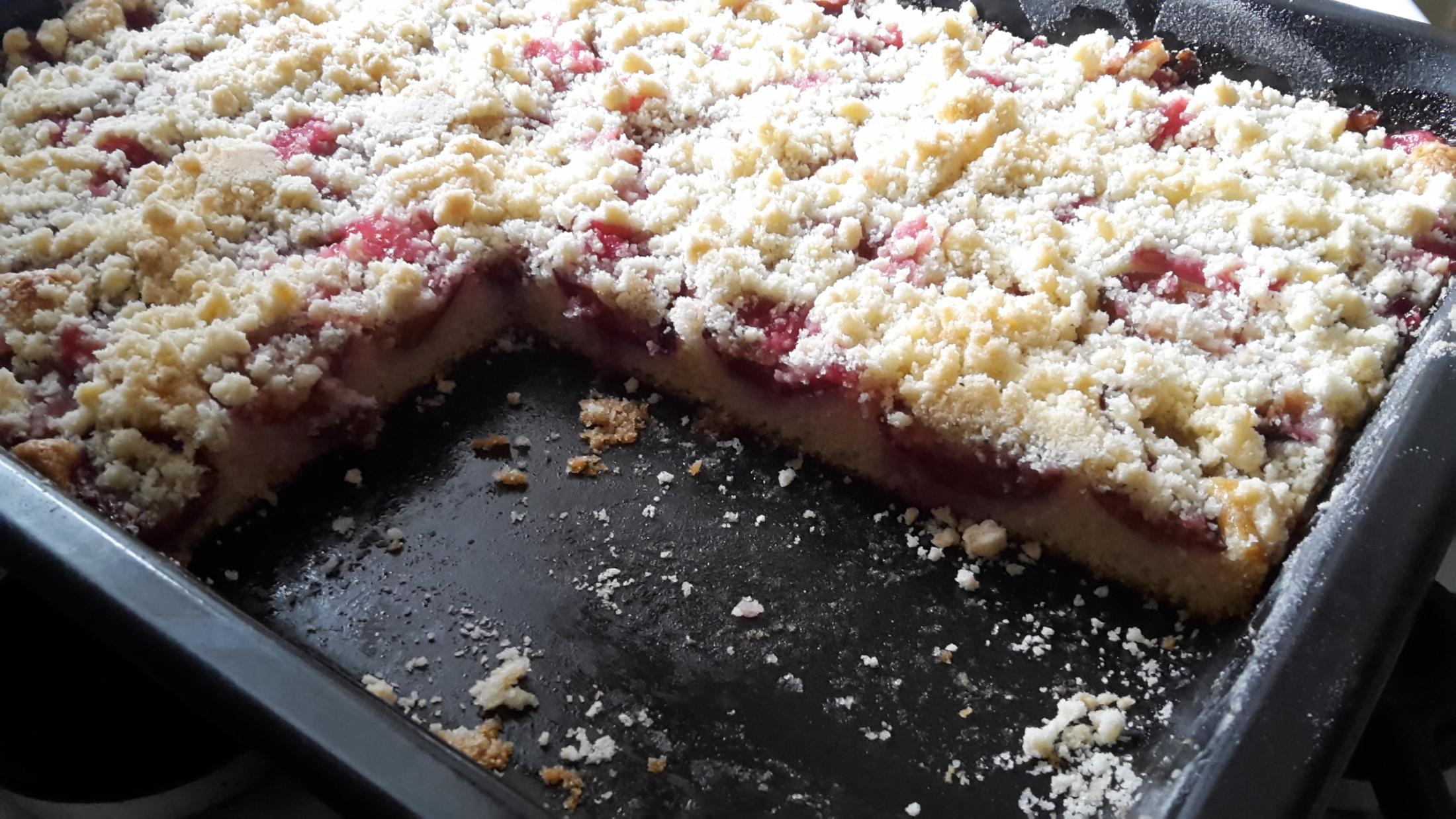 Recept Švestkový koláč bez droždí - Dobrou chuť!