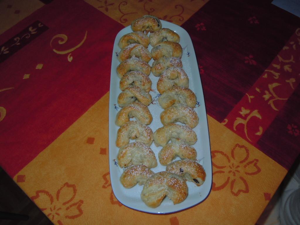 Fotografie receptu: Listové makové rohlíčky