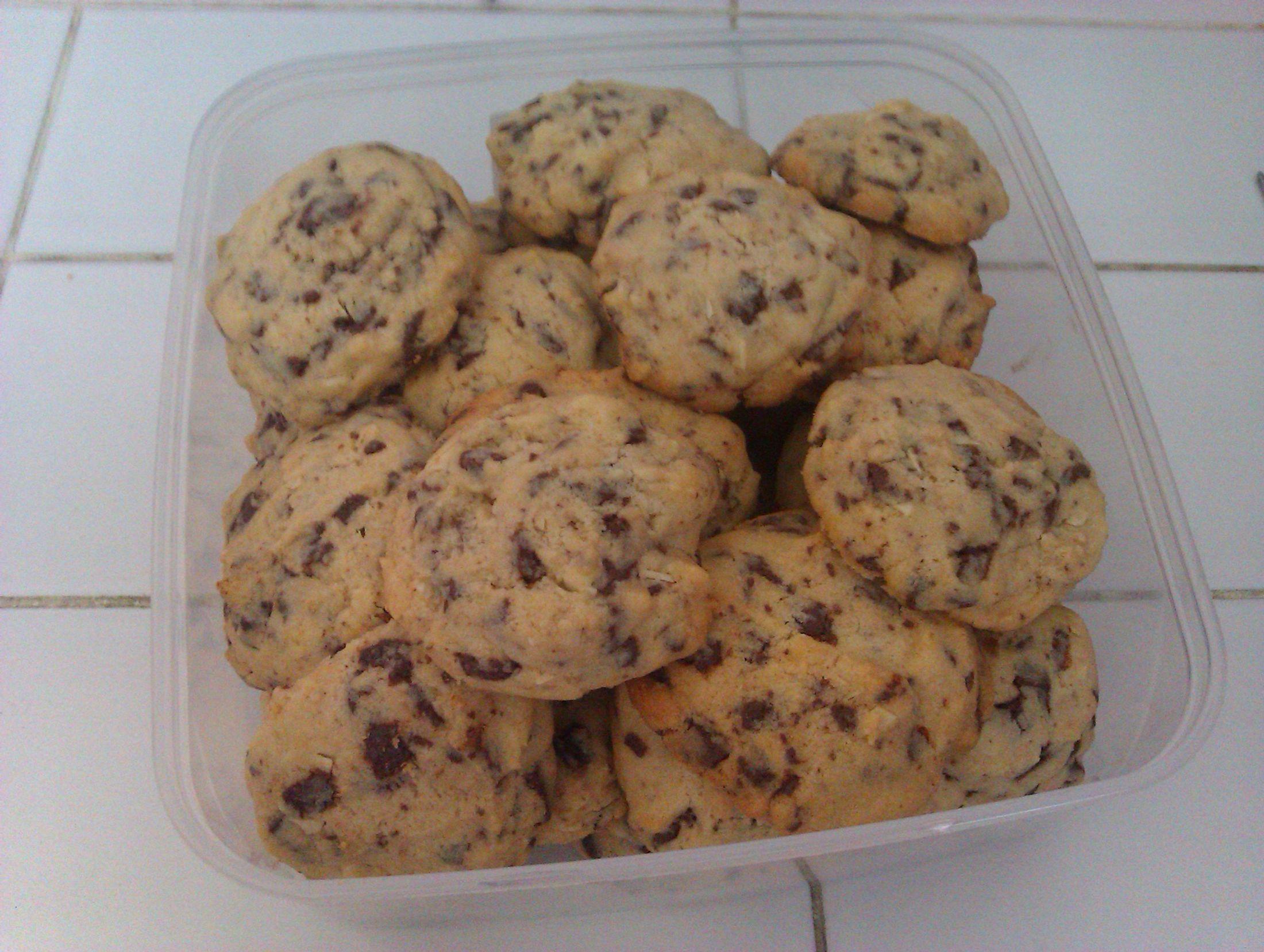 Recept Americké čokoládové cookies - cookies