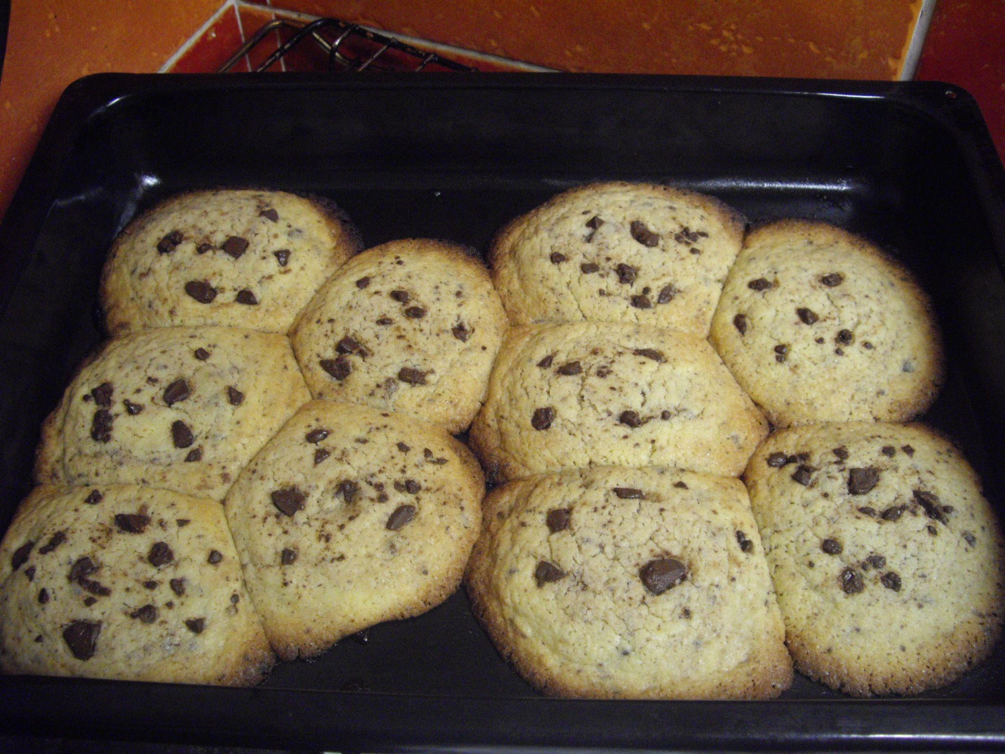 Recept Americké čokoládové cookies - beta verze