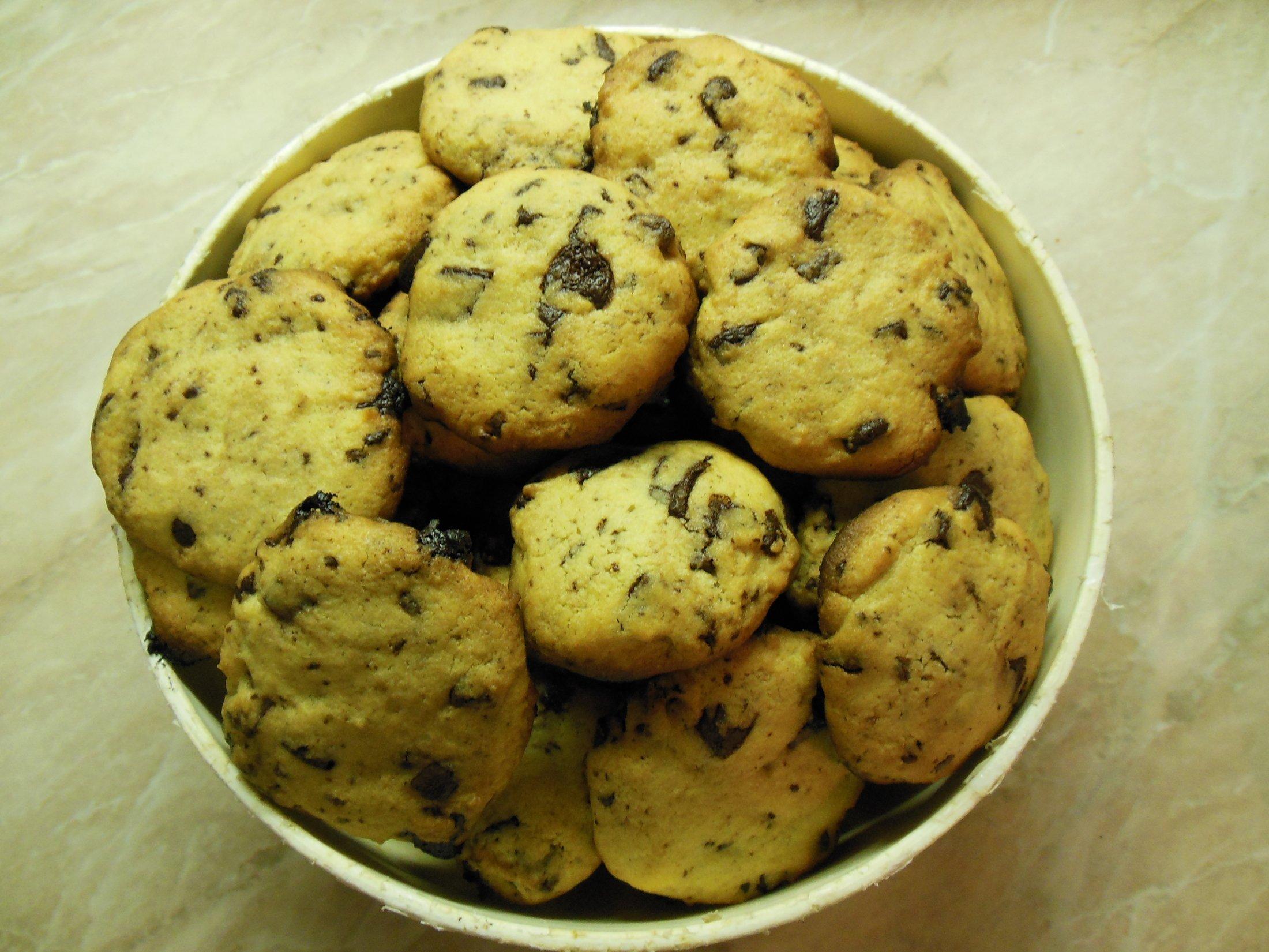 Recept Americké čokoládové cookies - Mňam!