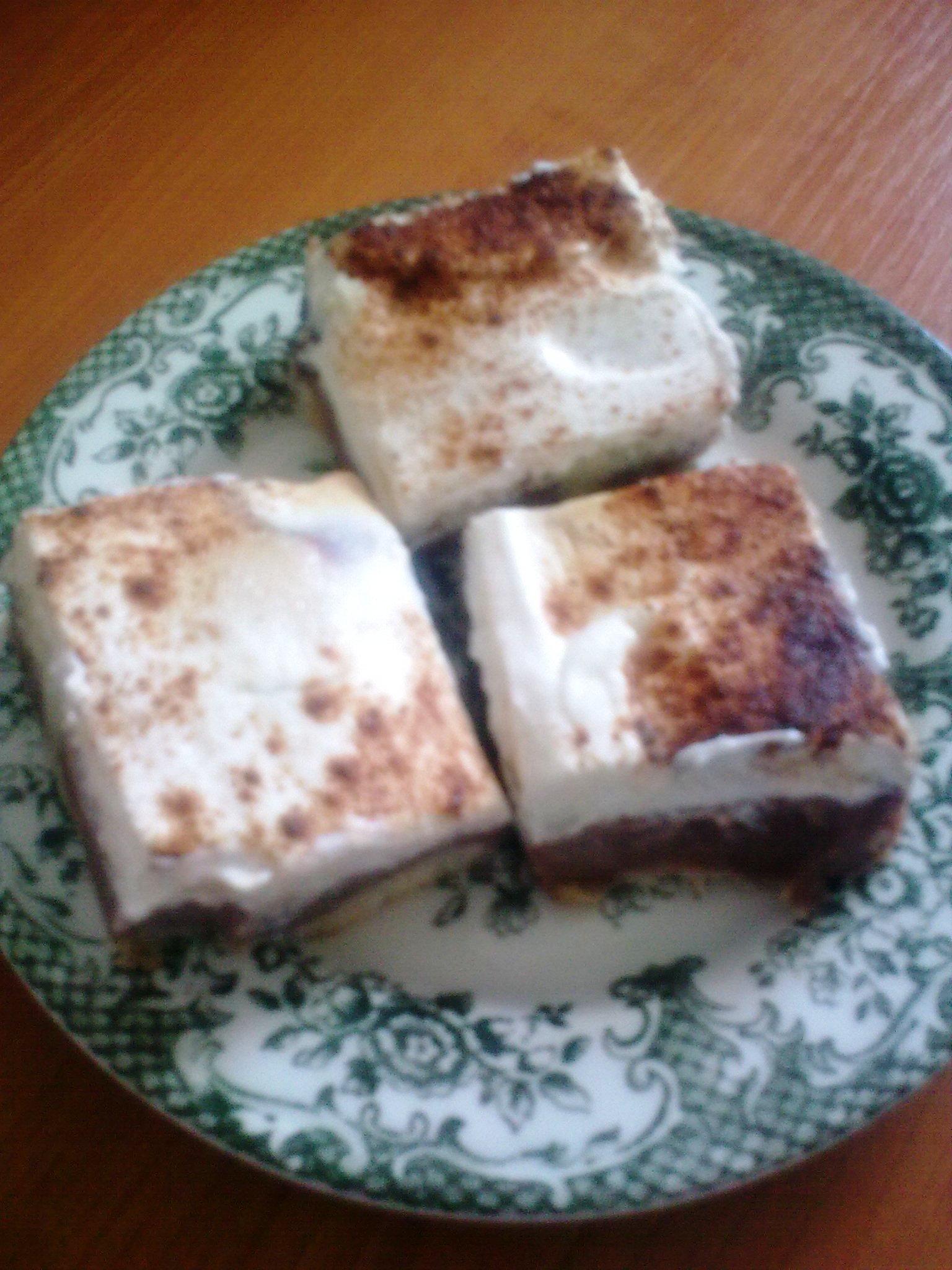 Fotografie receptu: Buchta s pudinkem a zakysanou smetanou
