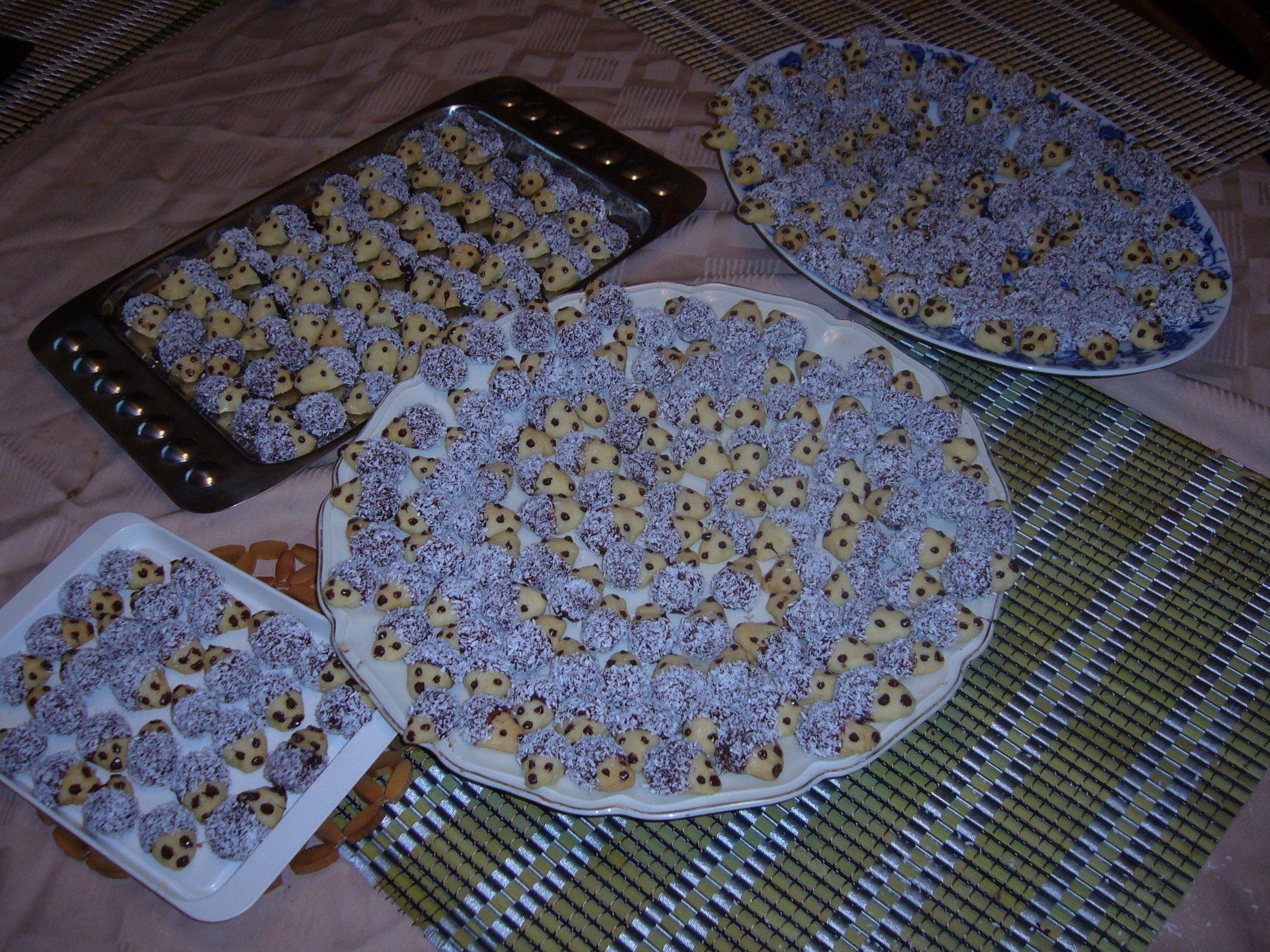 Recept Vánoční ježci - Vánoční ježci