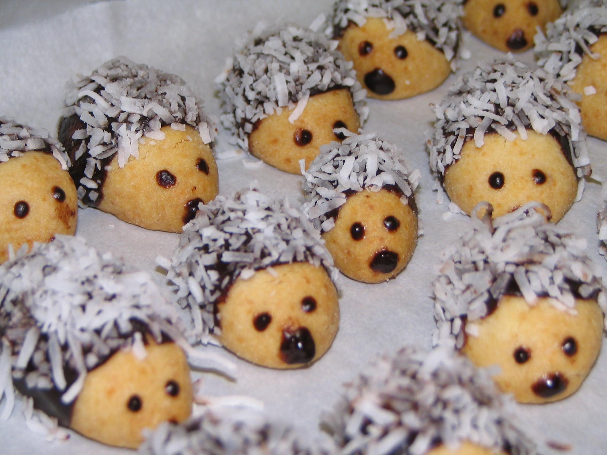Recept Vánoční ježci - Ježci první rok v Kanadě