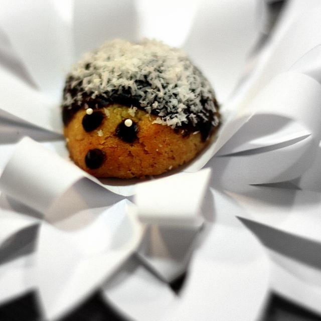 Recept Vánoční ježci - Vánoční ježek