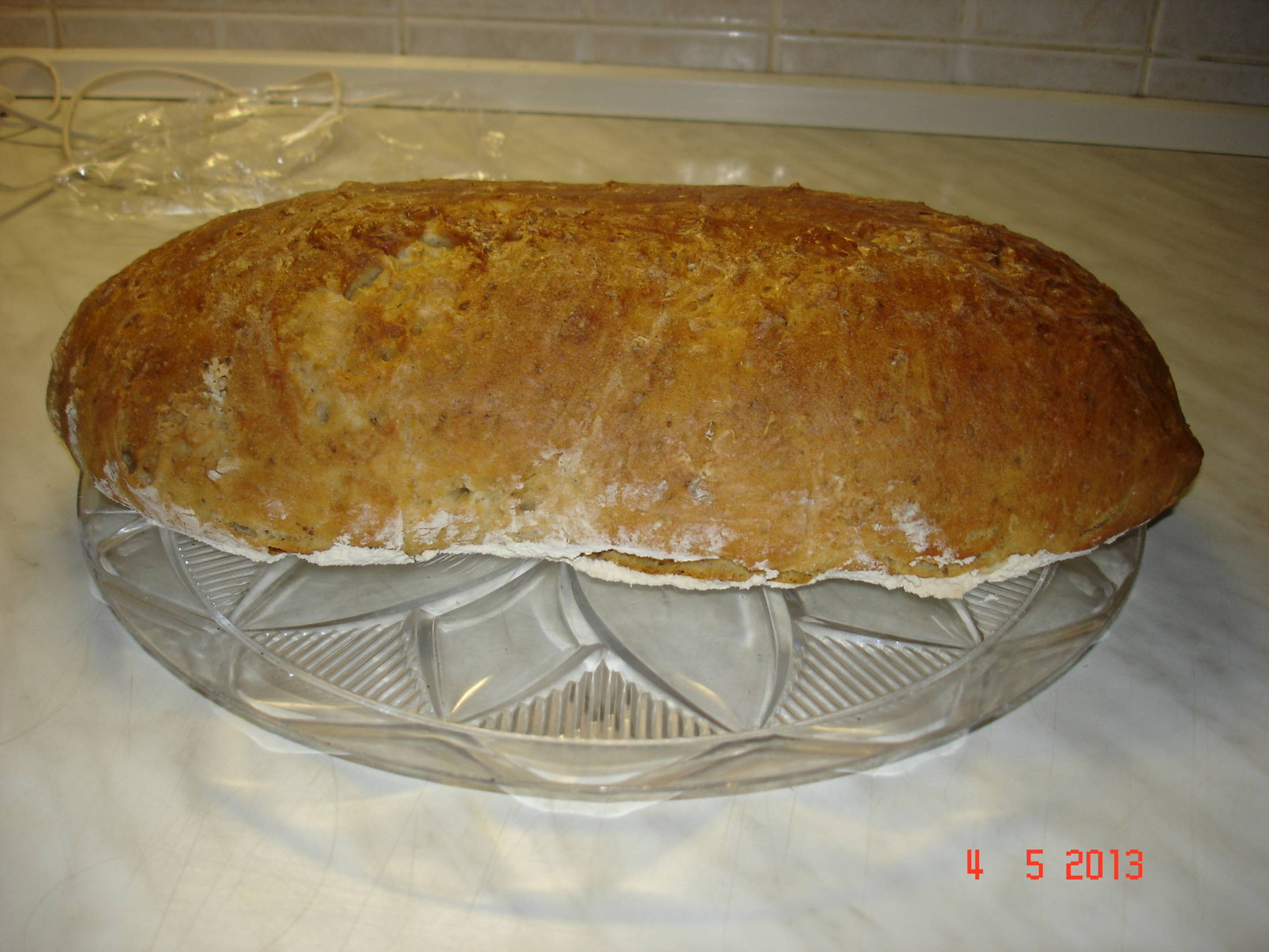 Recept Domácí chleba - Výborný a rychle hotový chléb