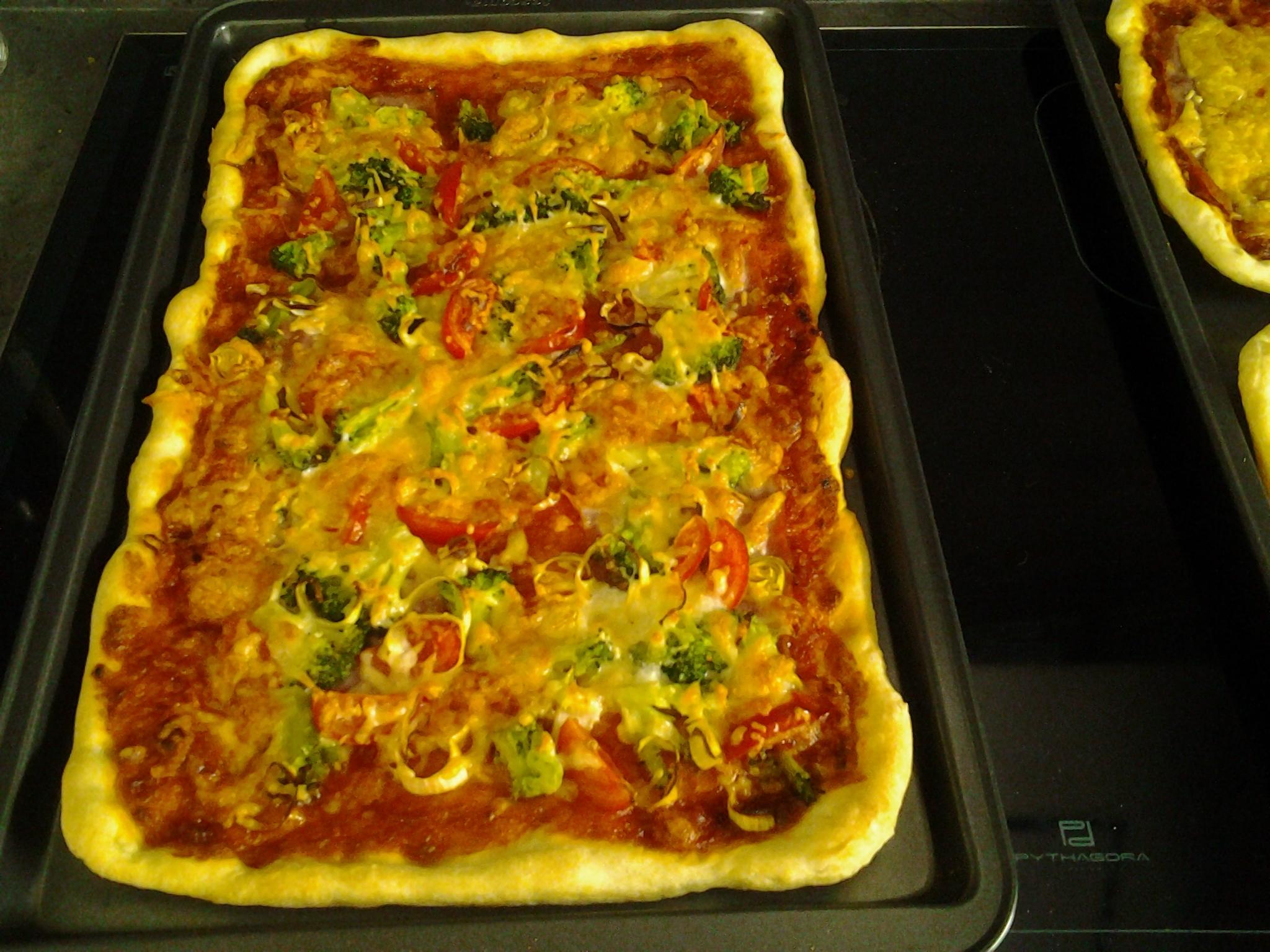 Recept Těsto na pizzu z pizzerie - Naše pizza